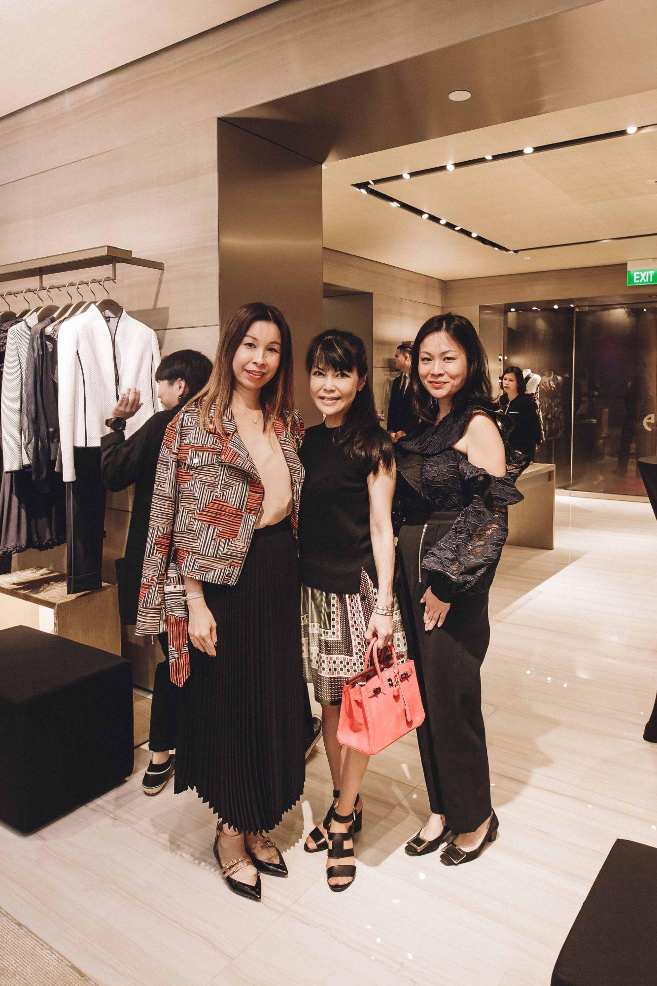 Stephanie Tay, Kyoko Abe, Sonia Ong