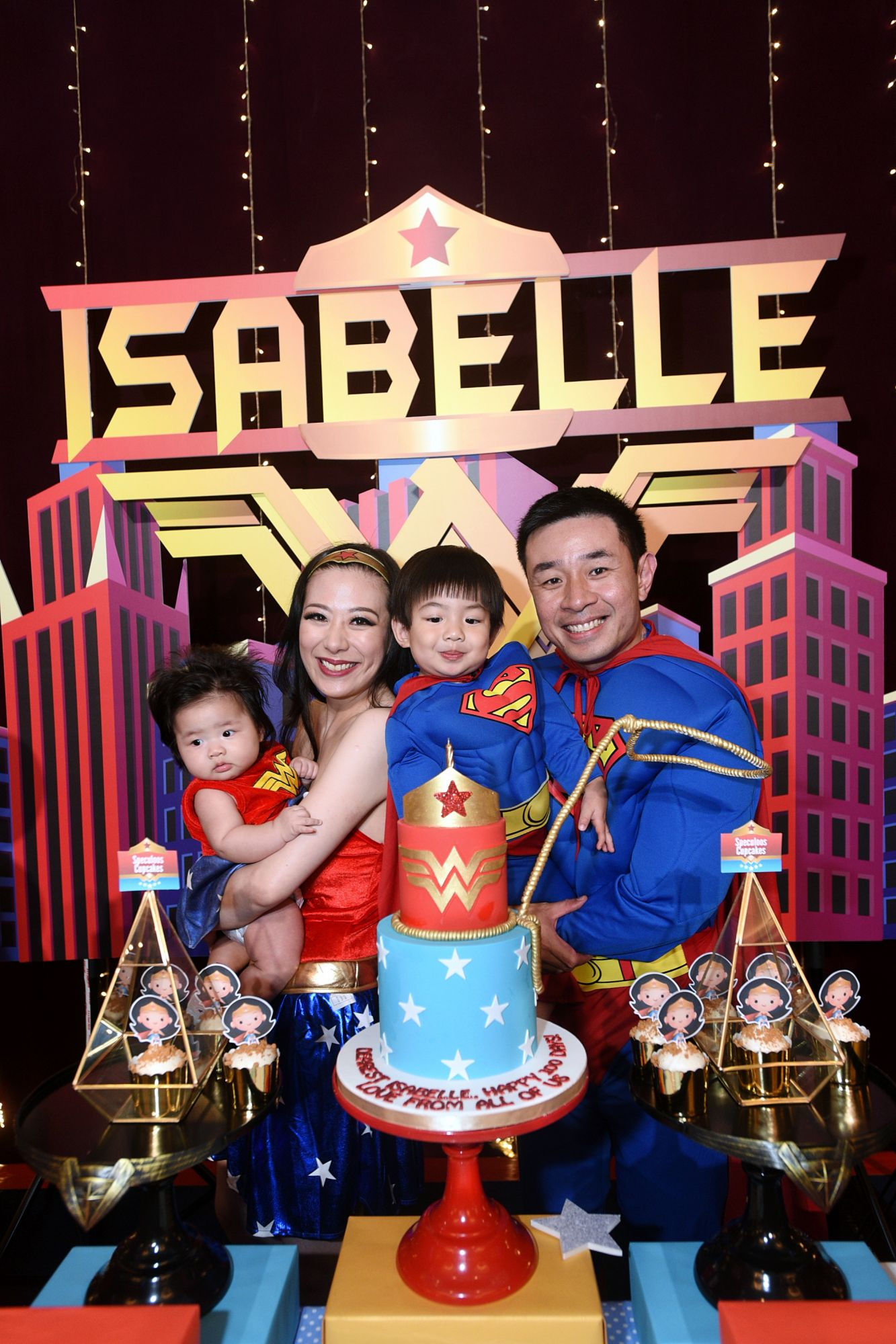 Isabelle Choo, Stephanie Lee, Max Choo, Choo Ken-Yi