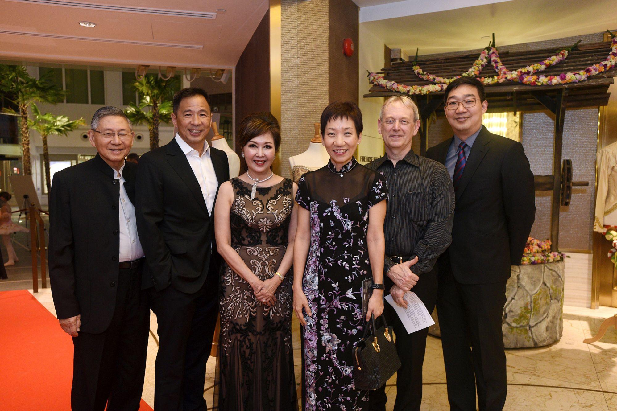 Michael Hwang, Lee Lung-Nien, Laura Hwang, Grace Fu, Janek Schergen, Kevin Cheok