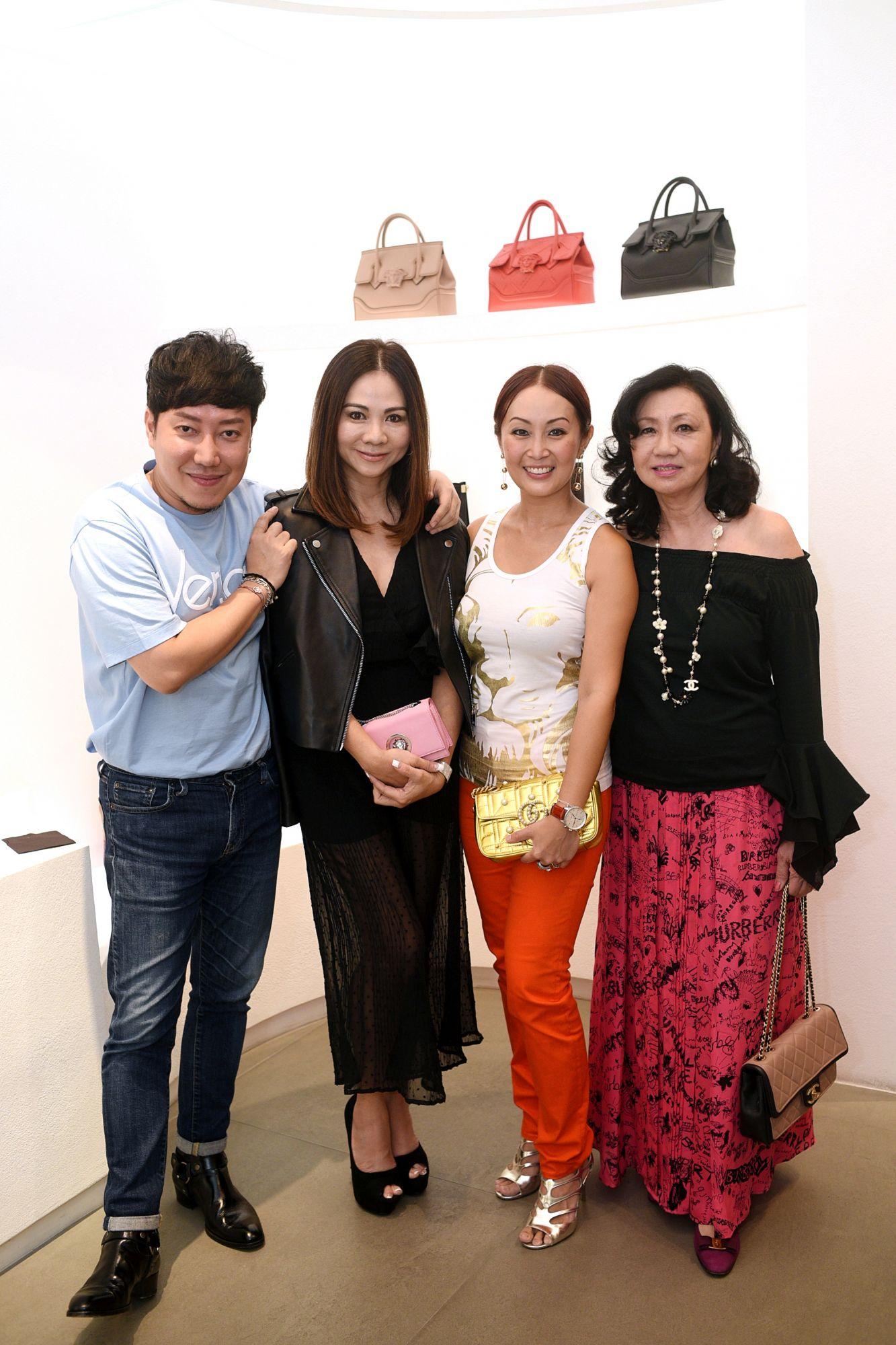 Desmond Lim, Jacelyn Lai, Serene Chua, Renee Tan