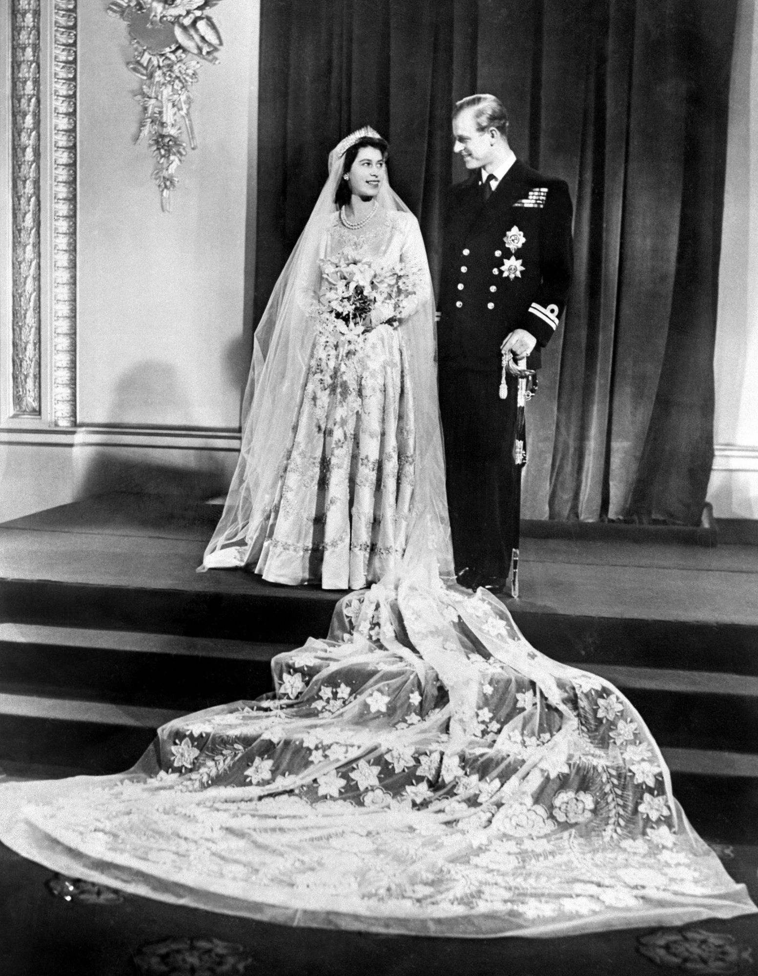 A Look At 7 Decades Of Royal Wedding Dress