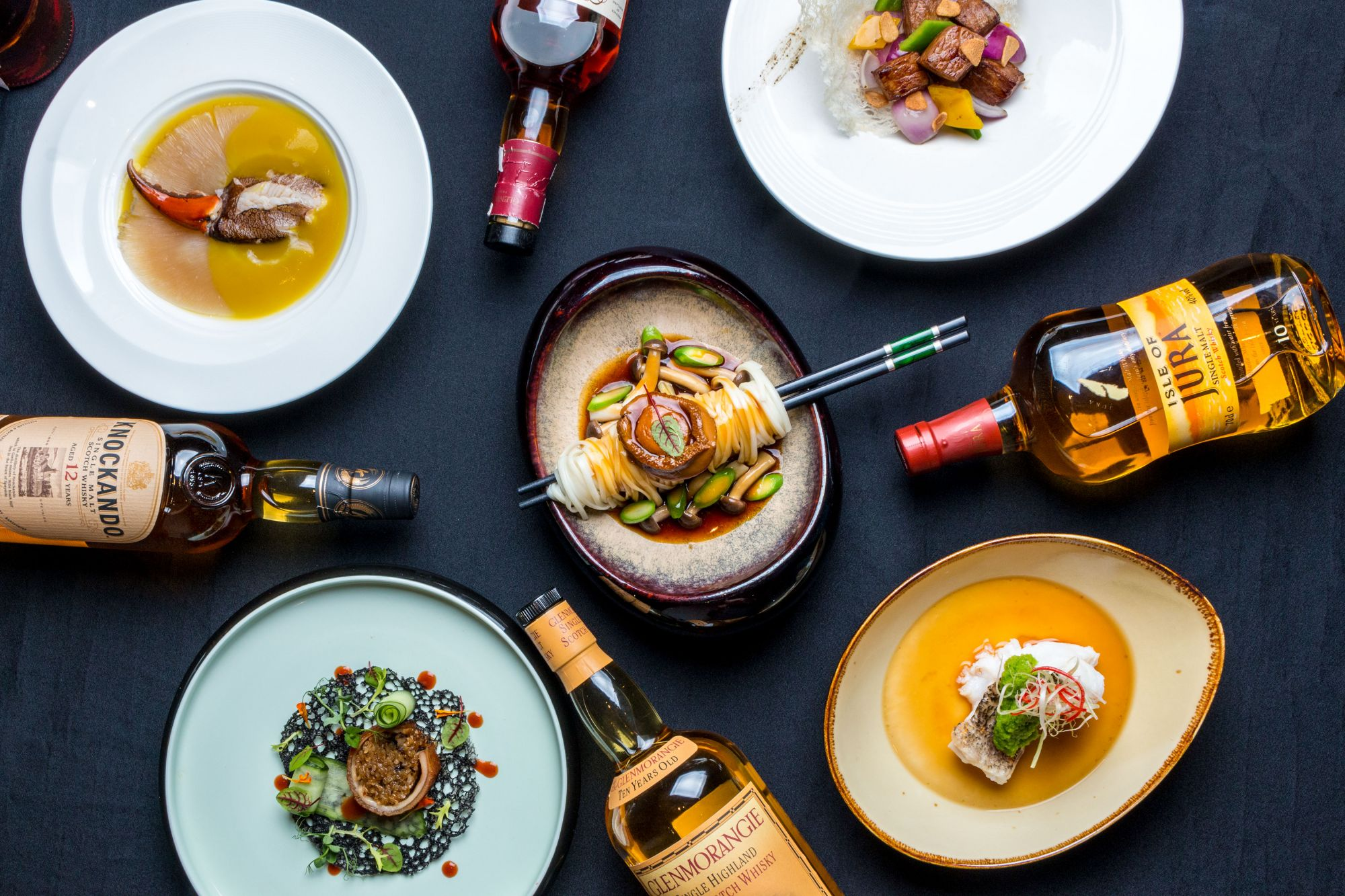 Hua Ting Boldly Pairs Fine Cantonese Fare With Whisky