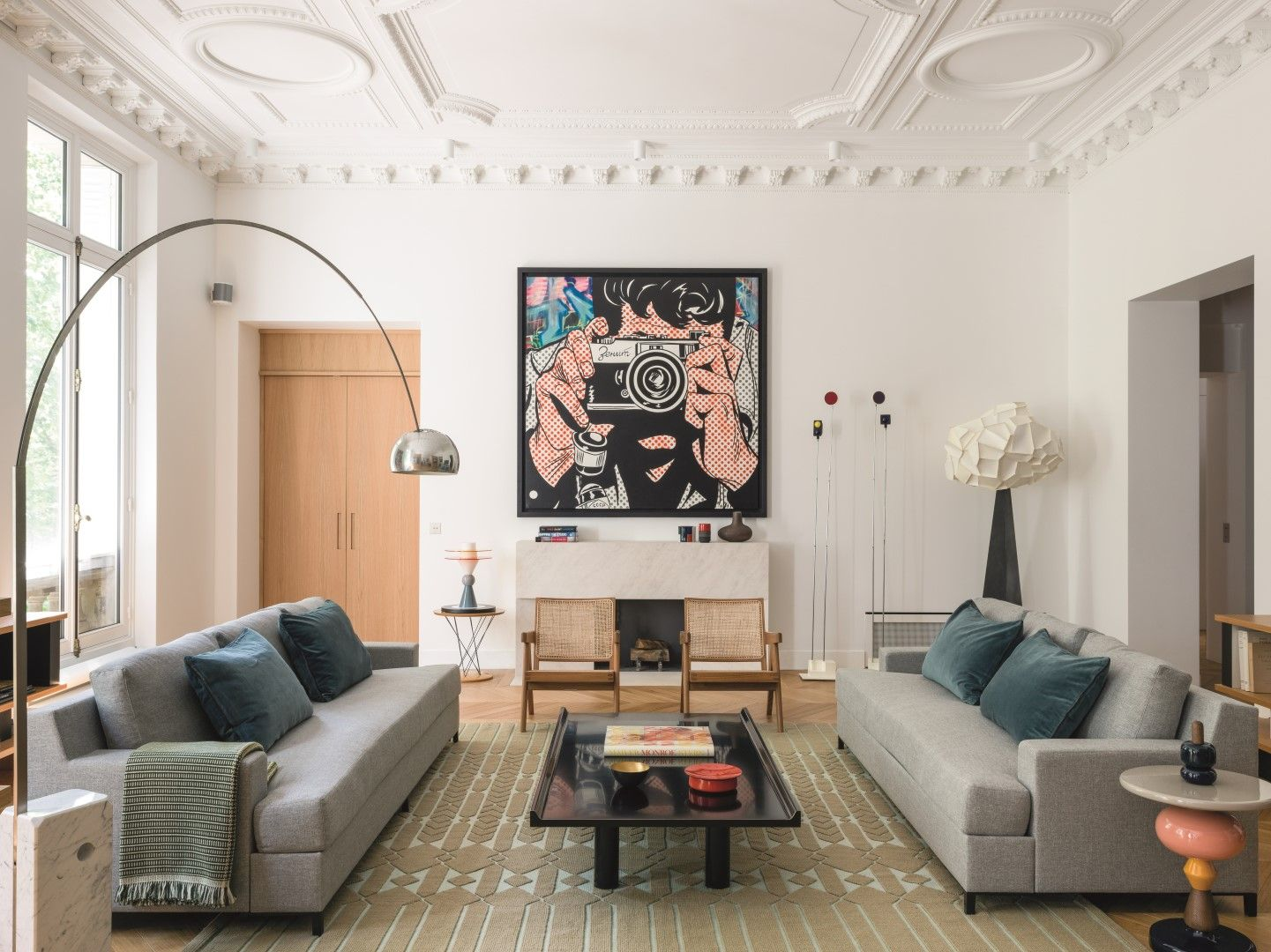 Home Tour: A Parisian Apartment Built Around Art