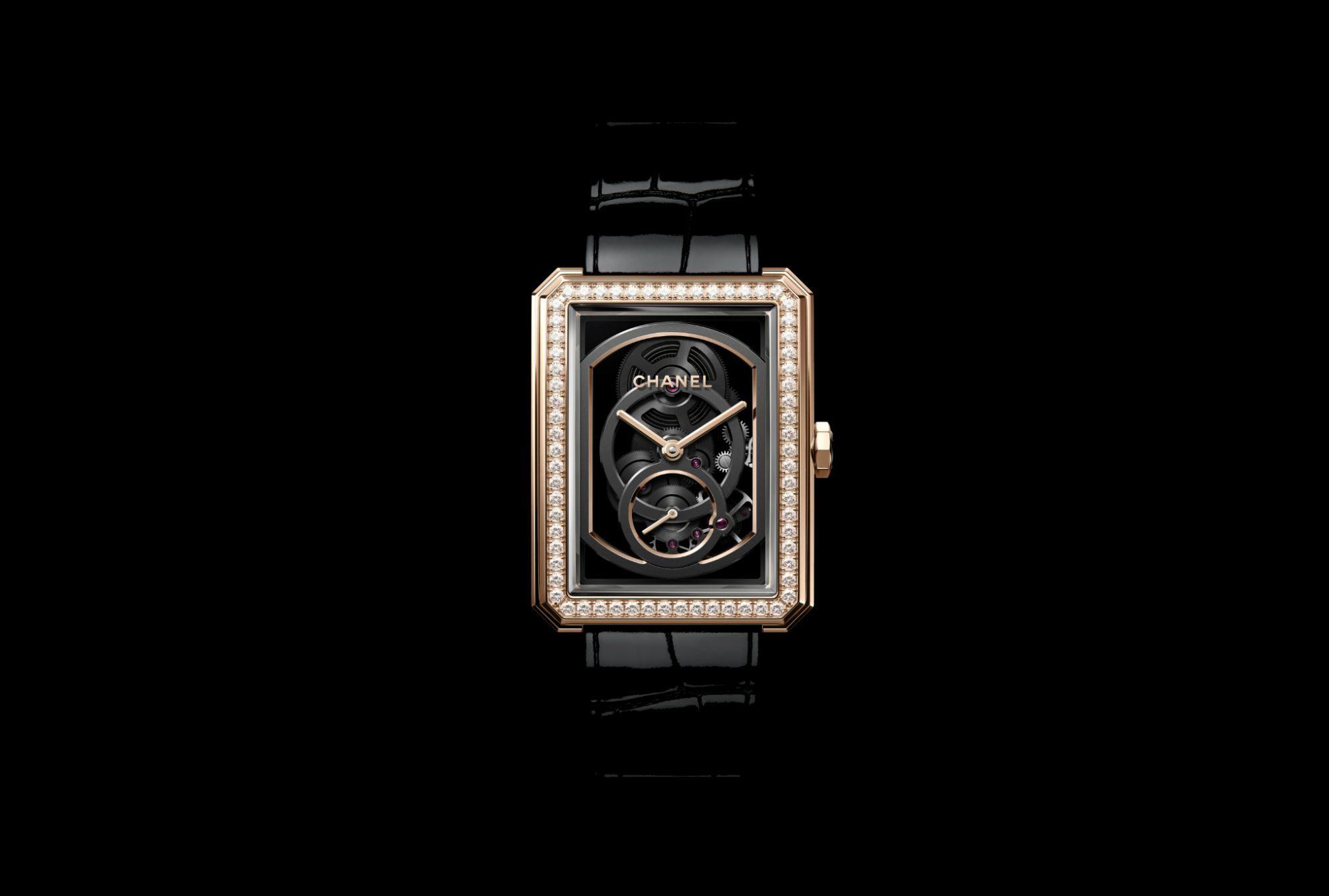 New Skeleton Movement For Chanel's Boy.Friend Watch