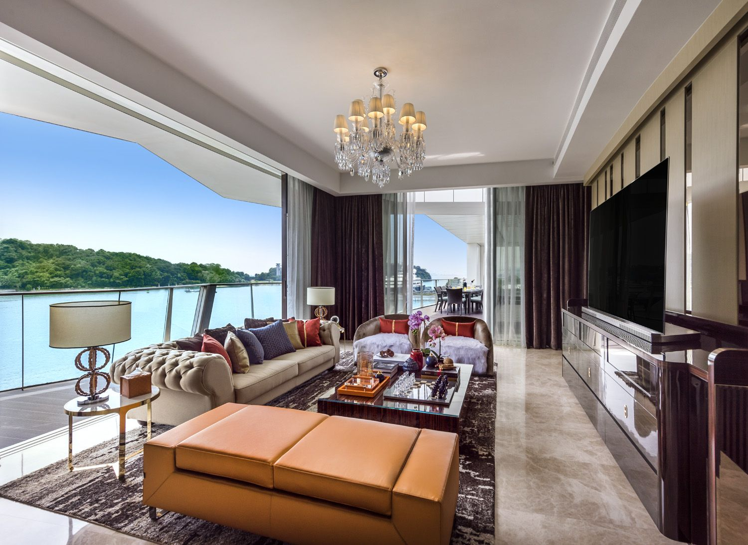 Home Tour: A Yacht-inspired Penthouse With Opulent Details
