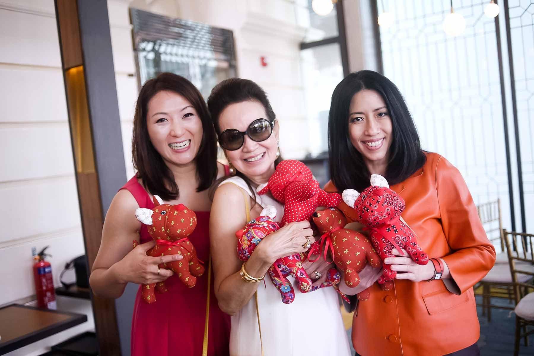 Nana Au-Chua, Celeste Basapa, Grace Chong-Tan