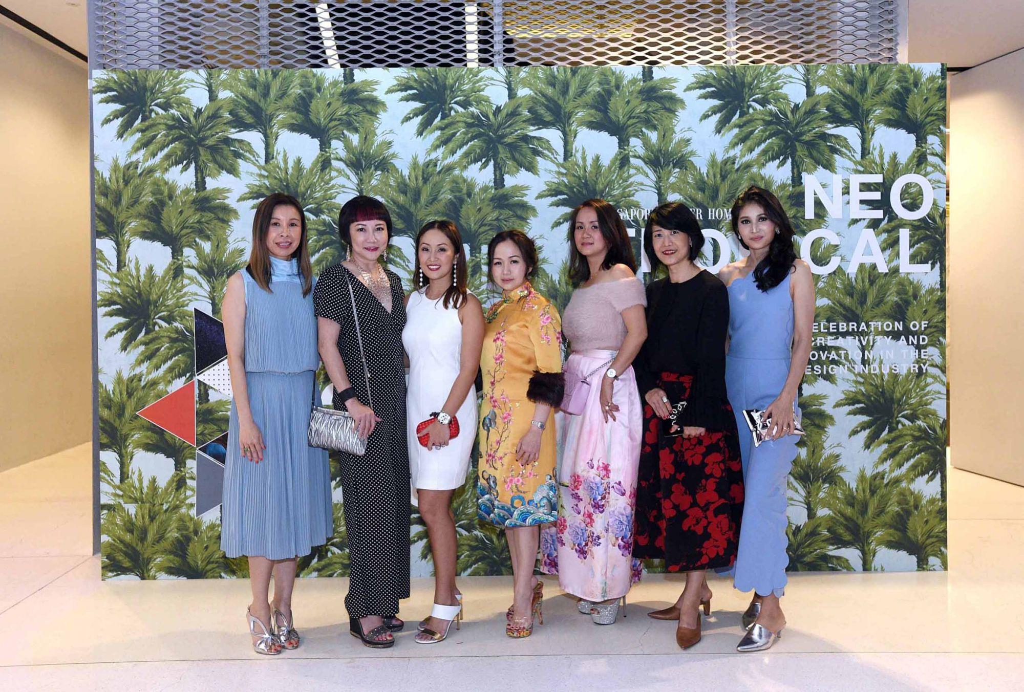 Stephanie Tay, Frances Low, Serene Chua, Tonya Tan, Nancy Low, Nancy Ong, Karen Ong-Tan