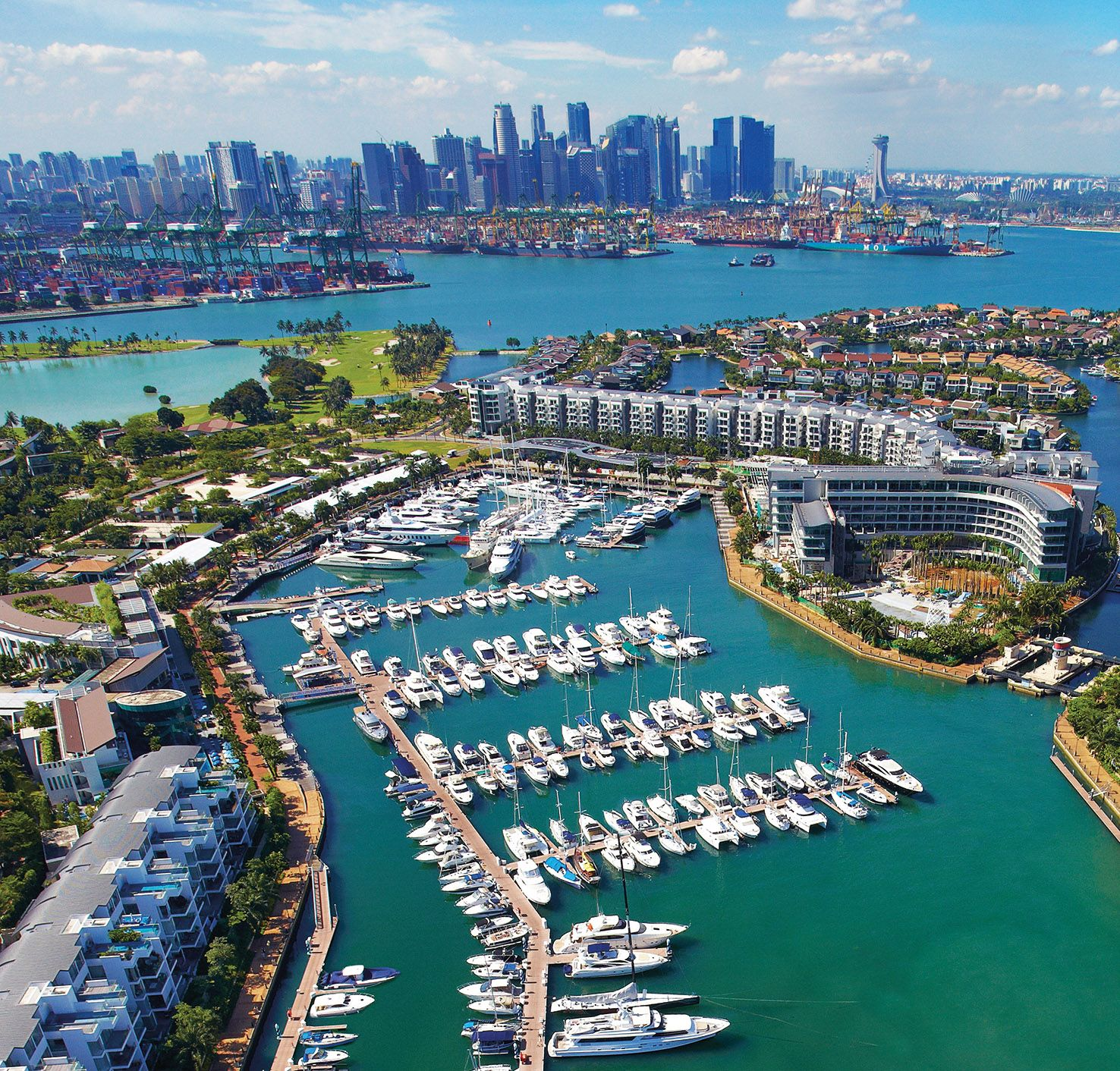 Who Is Behind The Top Marinas In The World, Including One°15 Marina Sentosa Cove?