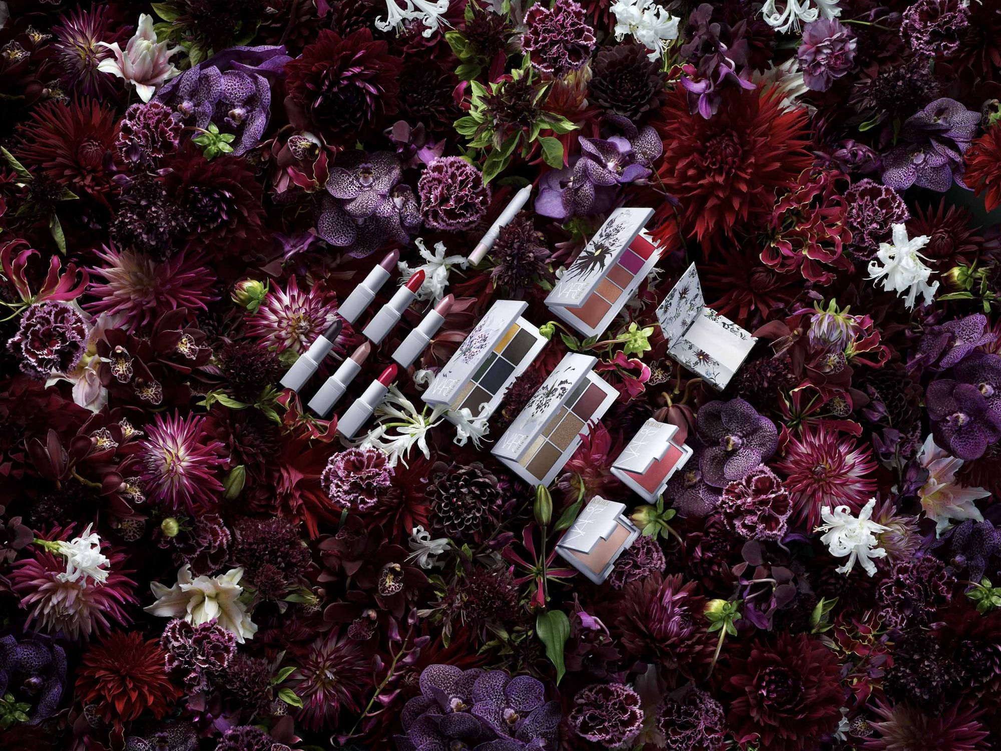'Strange Flowers' Bloom For Erdem And Nars