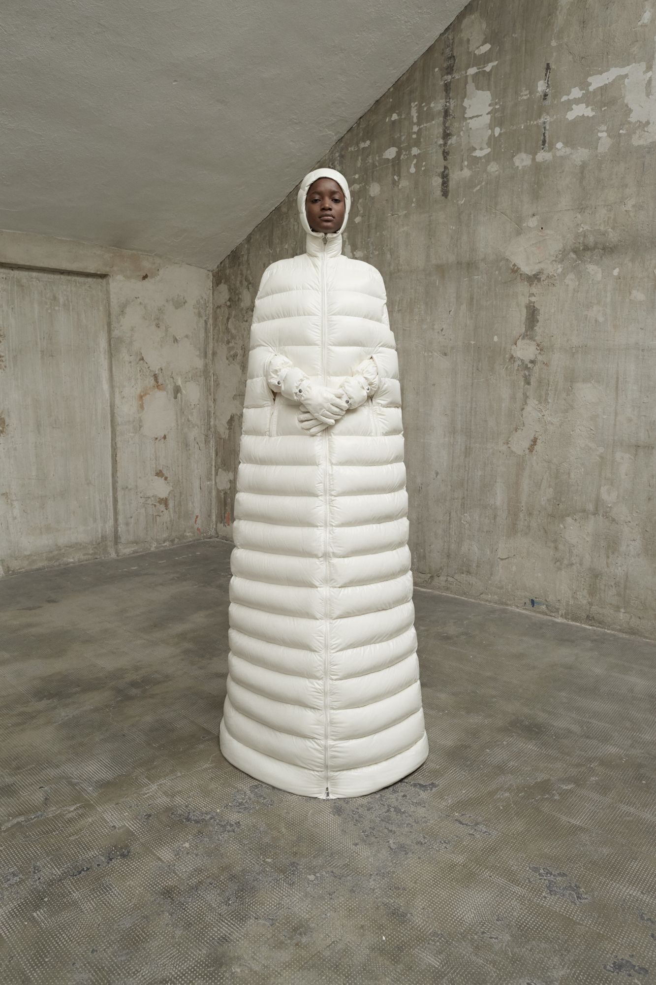 Moncler's Iconic Padded Jacket, Like You've Never Seen It