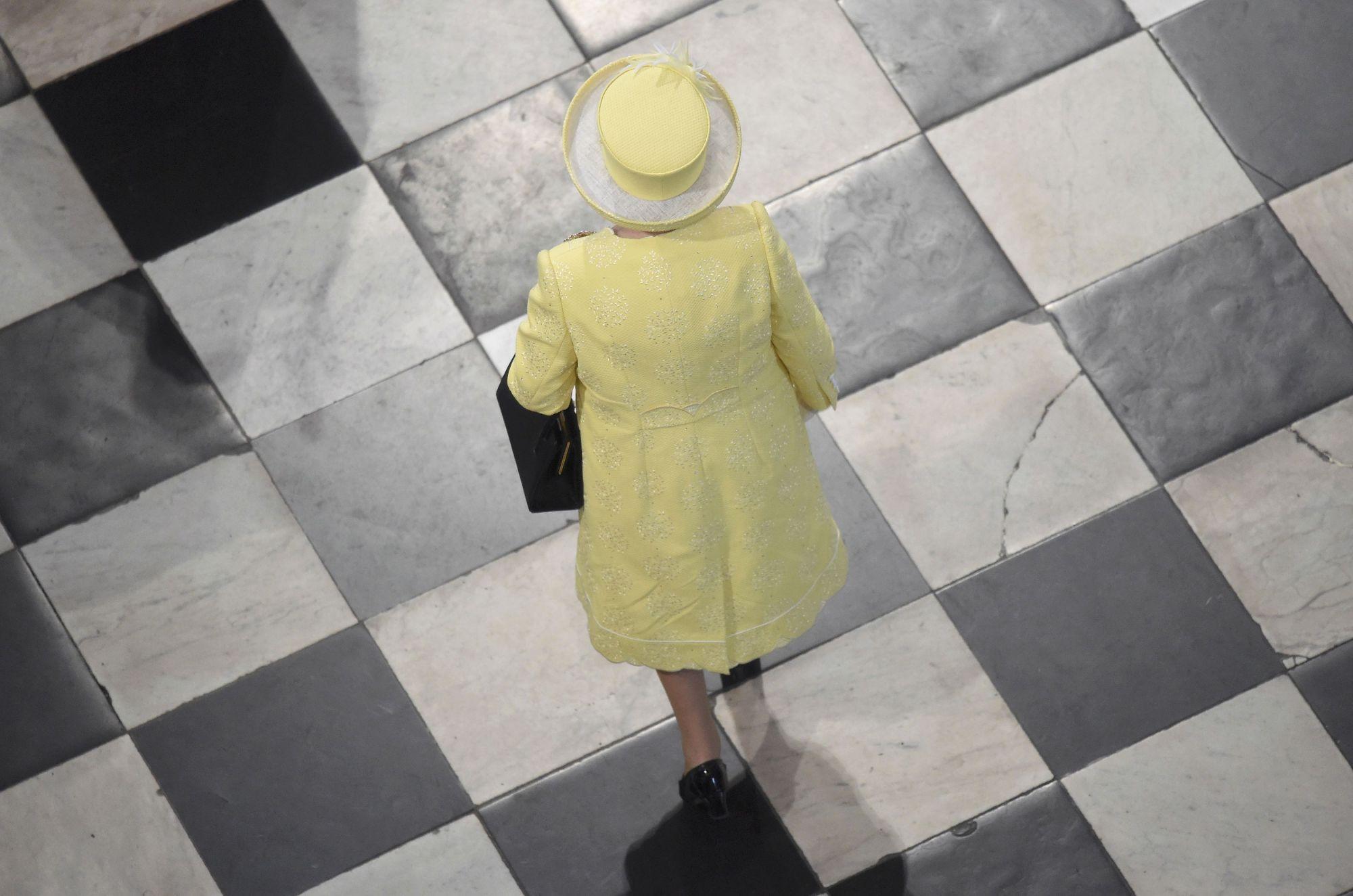 Queen Elizabeth II Made A Surprise Visit To London Fashion Week
