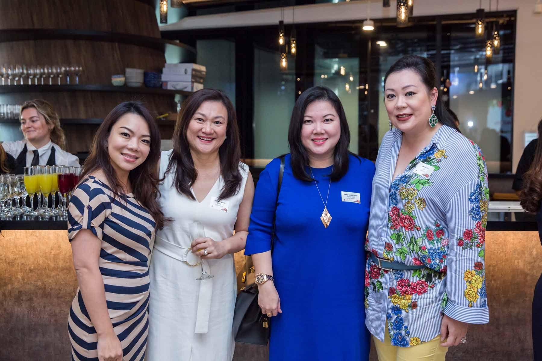 Dolores Au, Sharon Wong, Leny Suparman, Cheryl Lee