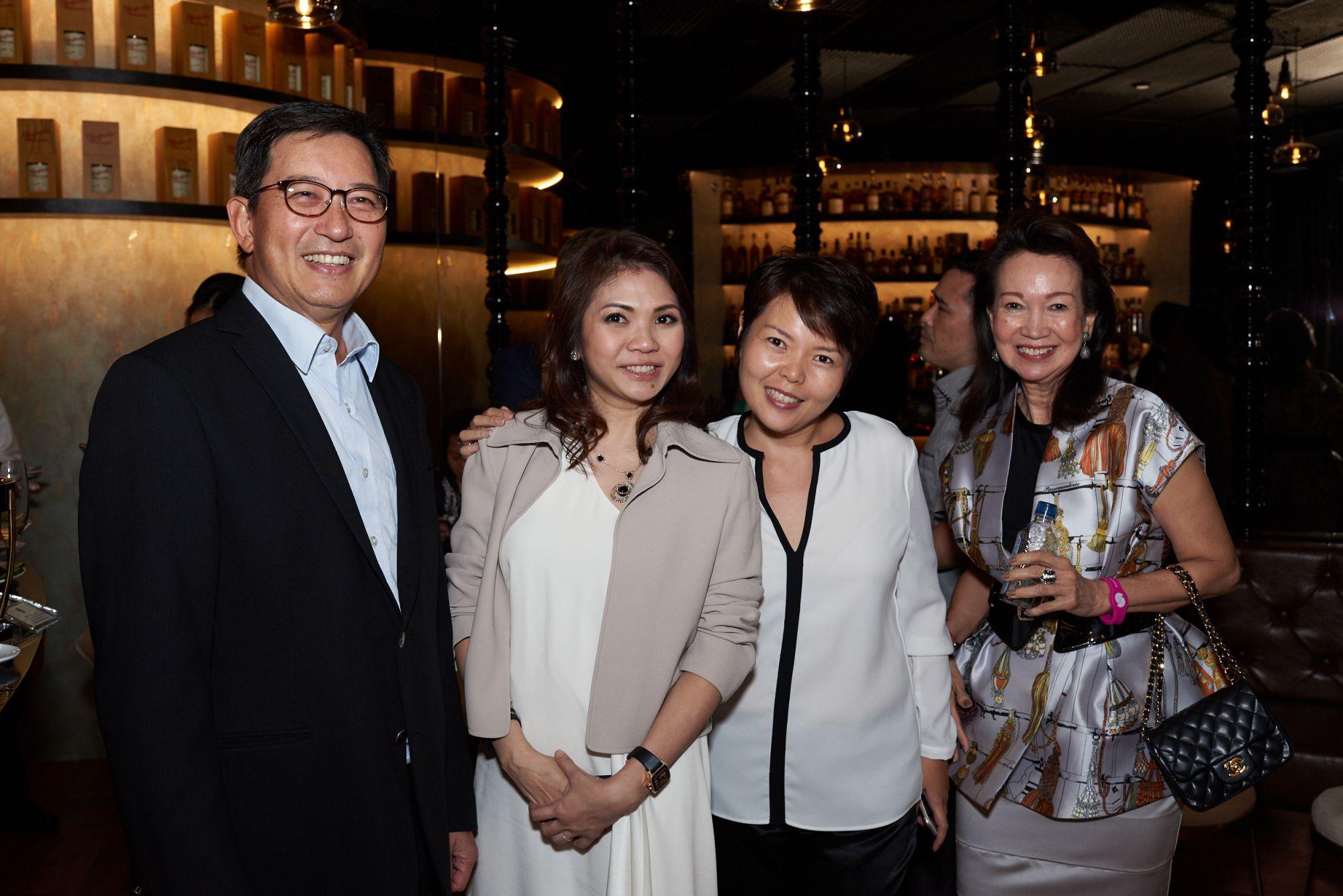 Esmond Choo, Shirley Crystal Chua, Sharon Teo, Celeste Basapa