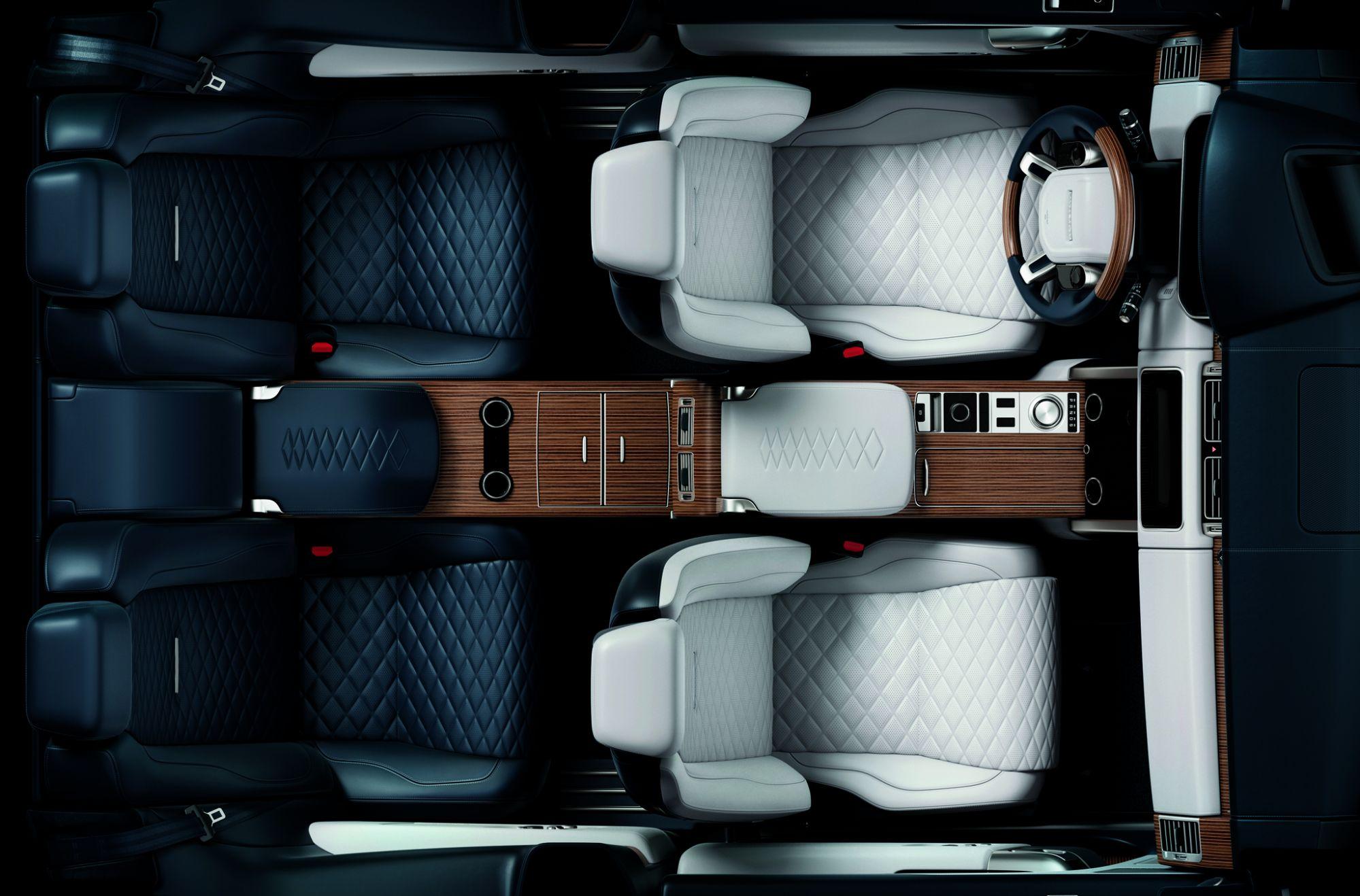 A Peek Inside Range Rover's SV Coupe