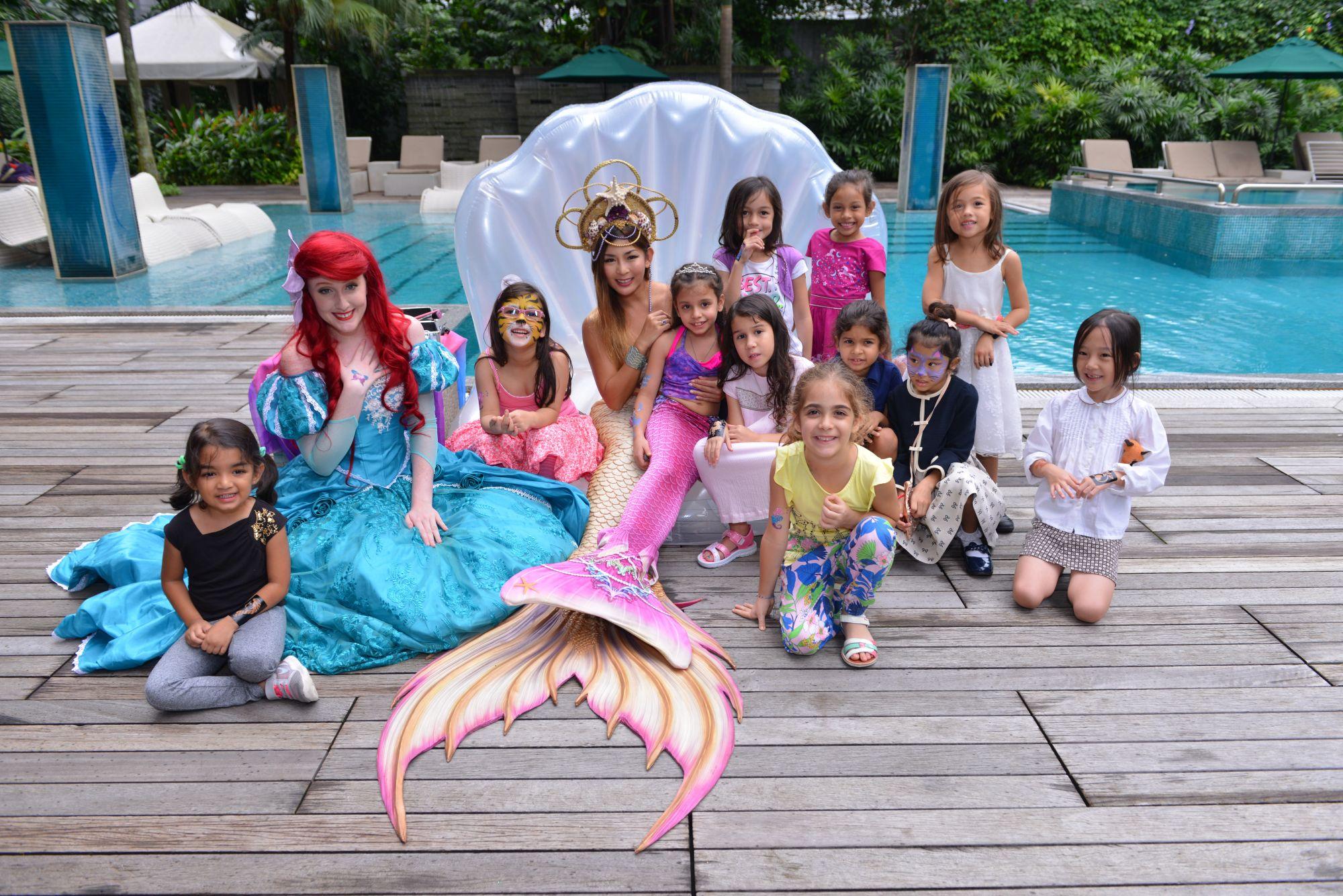 Sienna Jueptner's Ocean-Themed 7th Birthday Bash