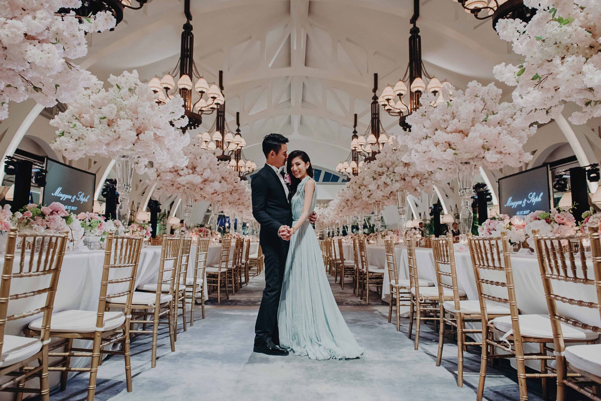 Perfectly Romantic: Stephanie Yap and Cheo Mingyou