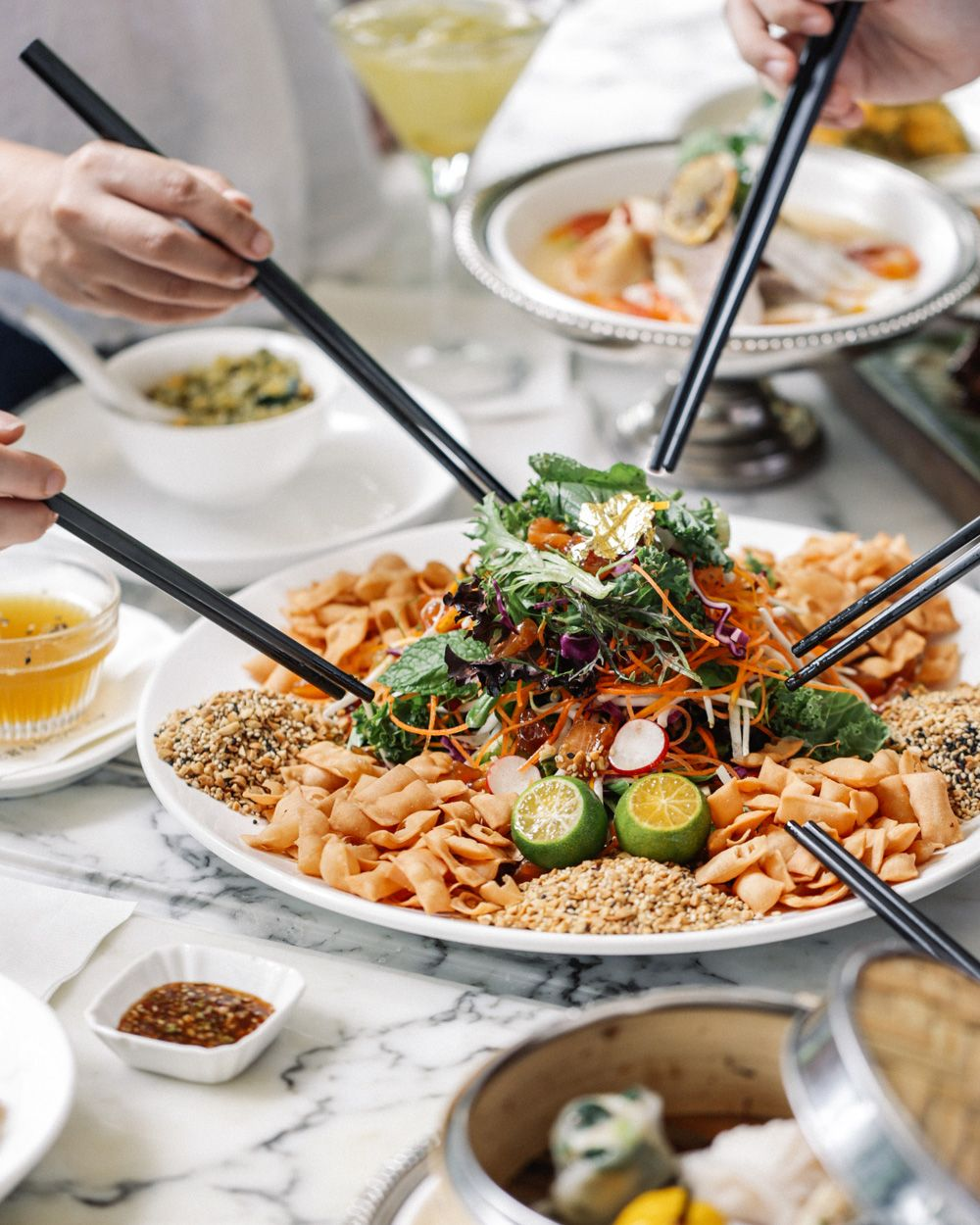 12 Creative Ways To Lo Hei In 2018