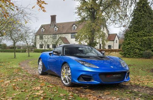 Lotus Unveils New Evora GT410 Sport