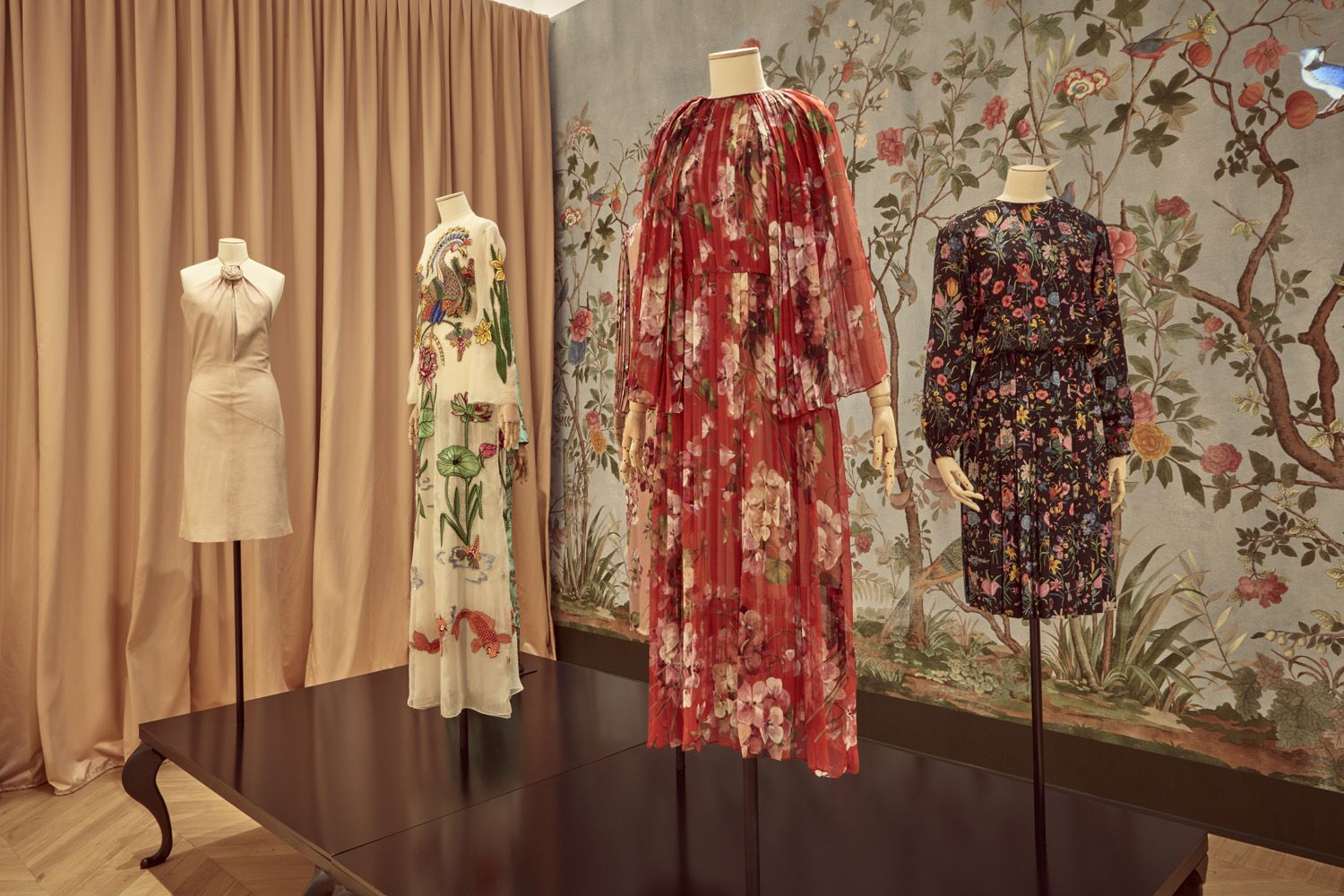 Gucci Garden exhibition display