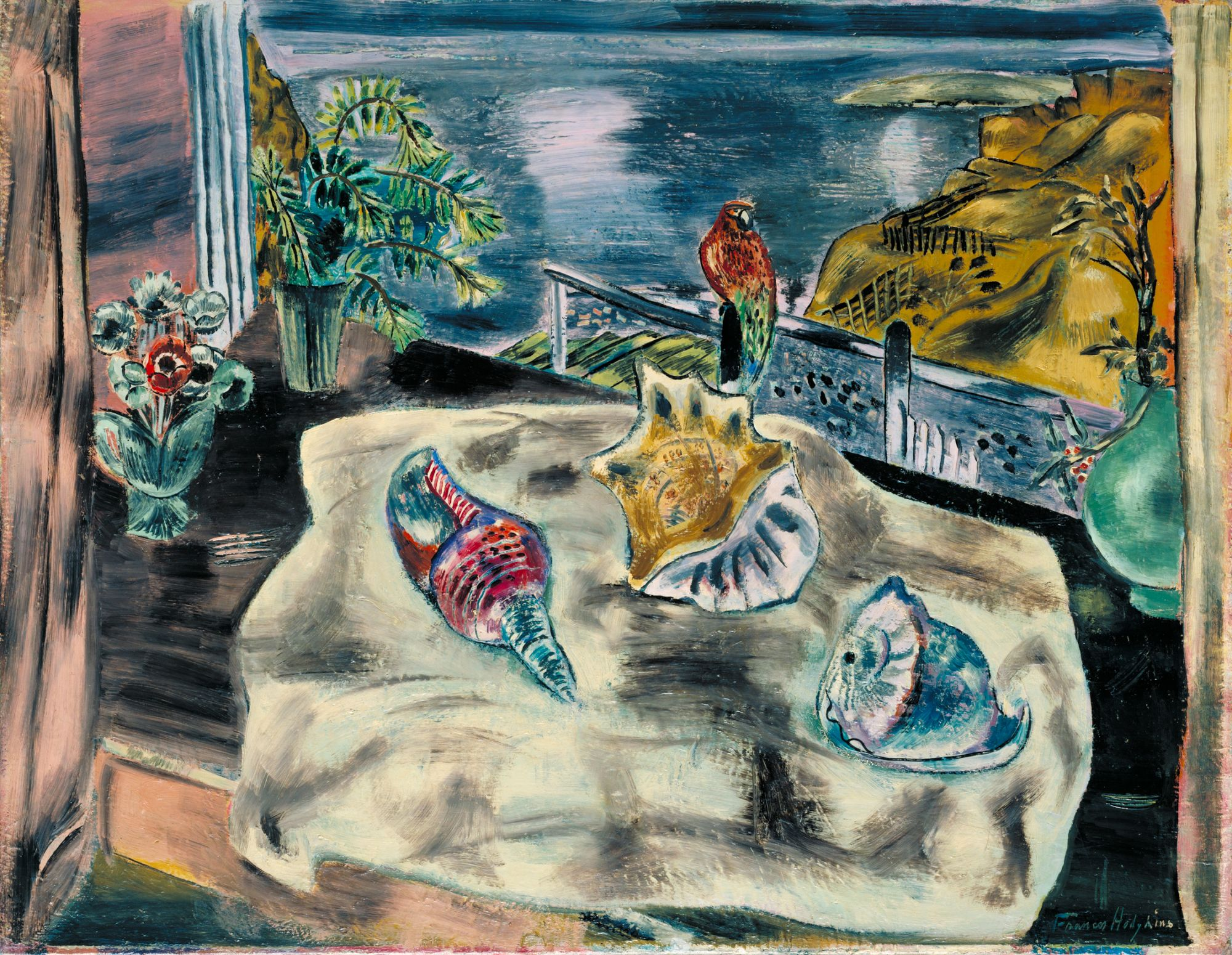 'Wings Over Water', 1930, Frances Hodgkins. Image: courtesy of Tate