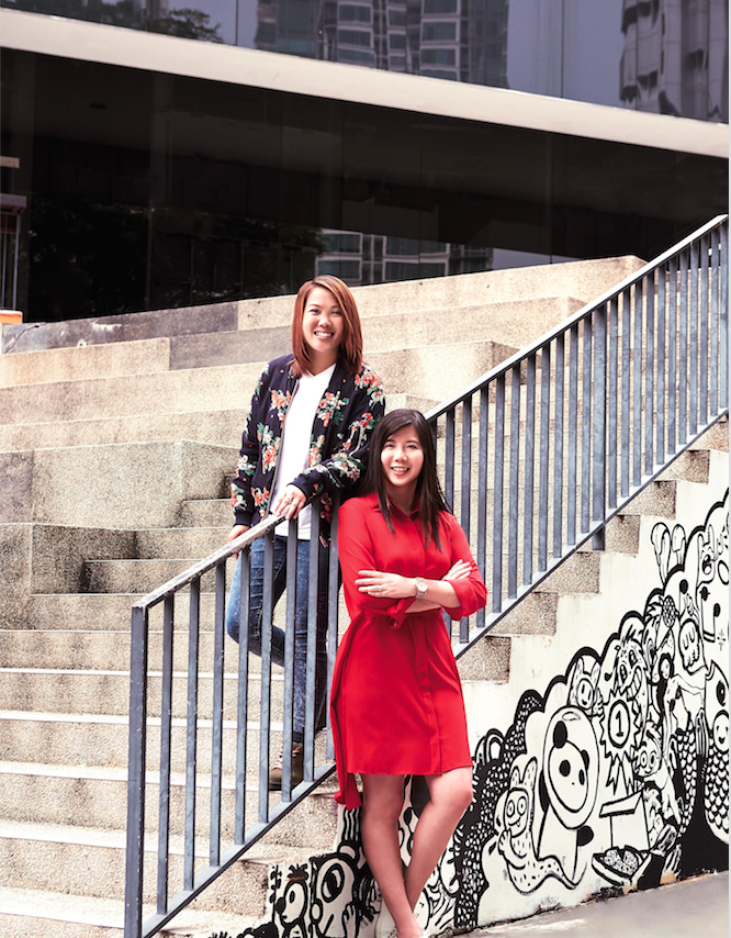 Rebekah Lin and Cheryl Chong: Forces of Change