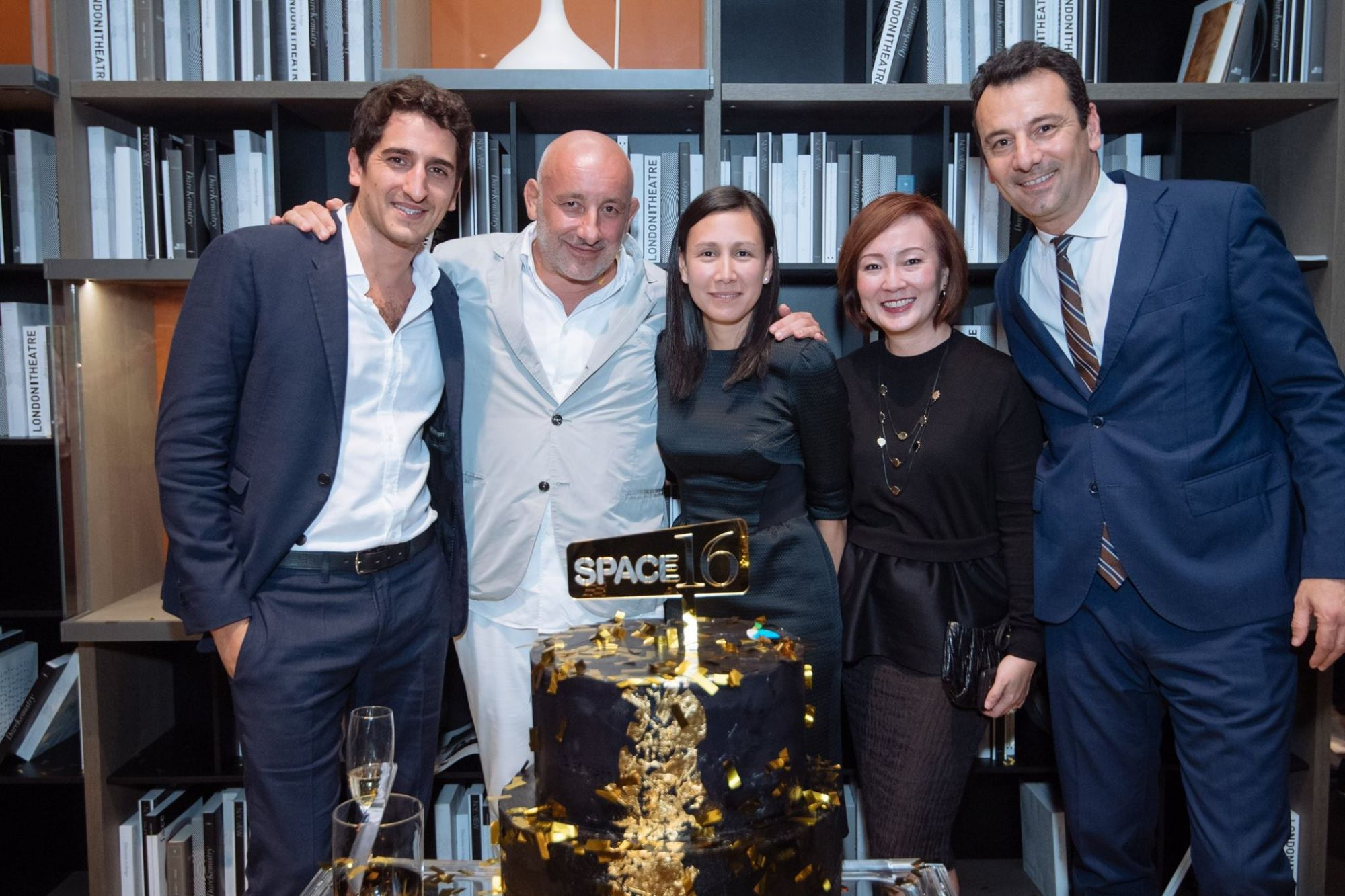 Marco Spinelli, Jean-Marie Massaud, Christina Caredes, Jennifer Soh, Marco Longoni
