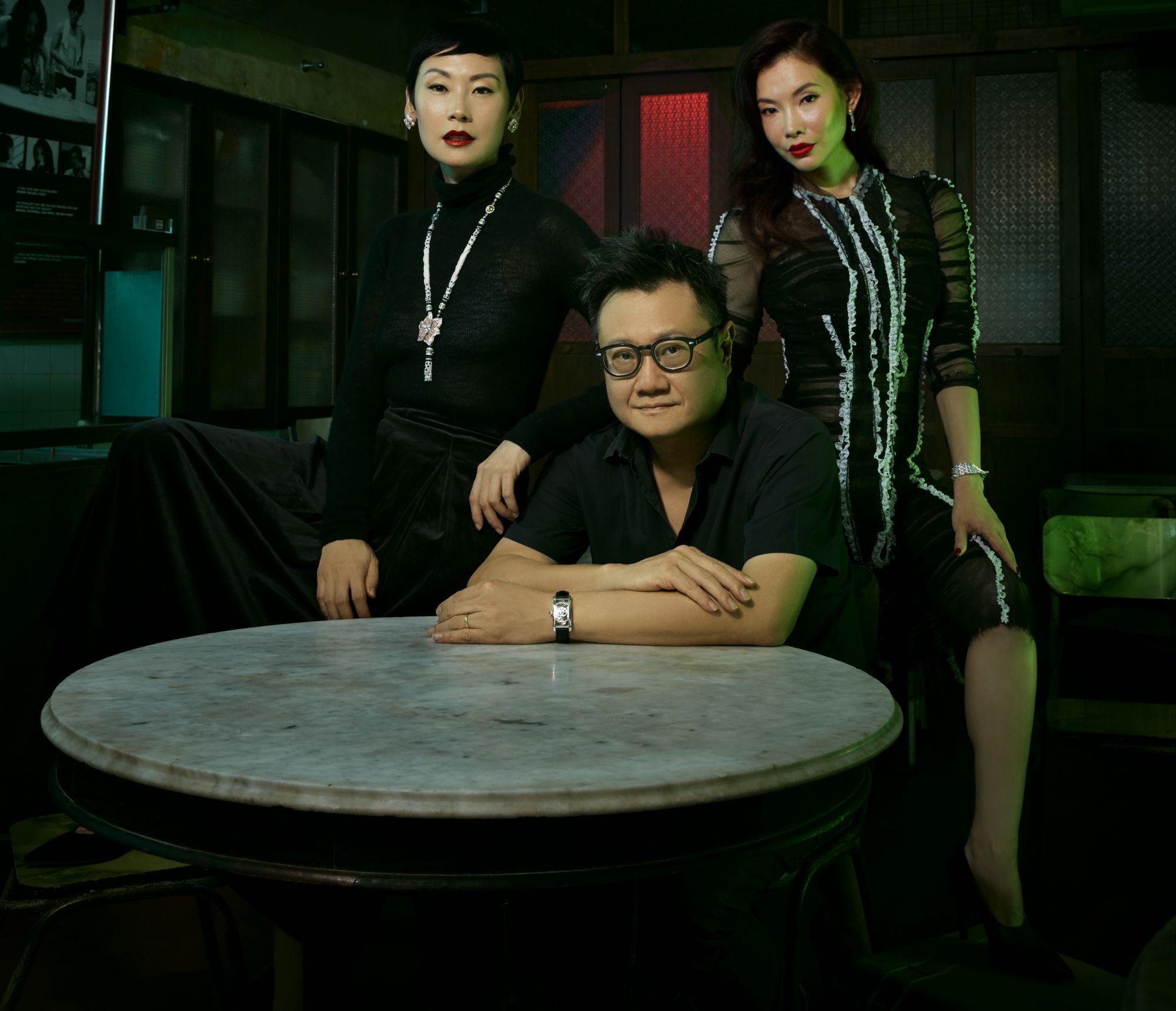 Eric Khoo And His Leading Ladies Tatler Singapore