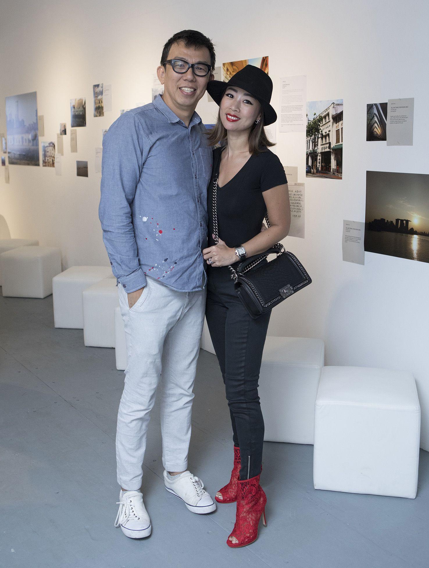 Alvin Chin, Evelyn Mulia