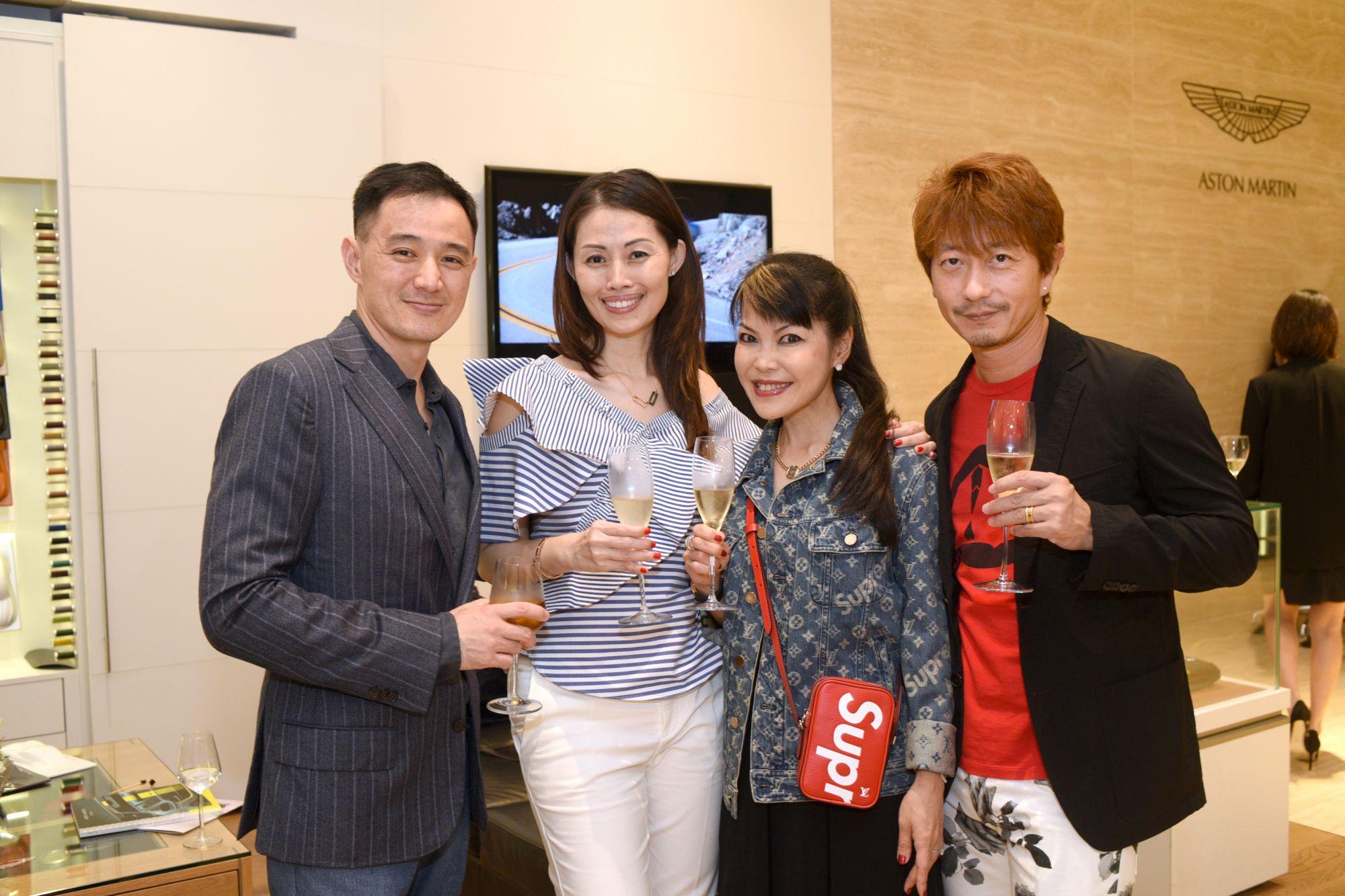 Benjamin Kim, Serene Tan, Kyoko Abe, Kimihisa Abe