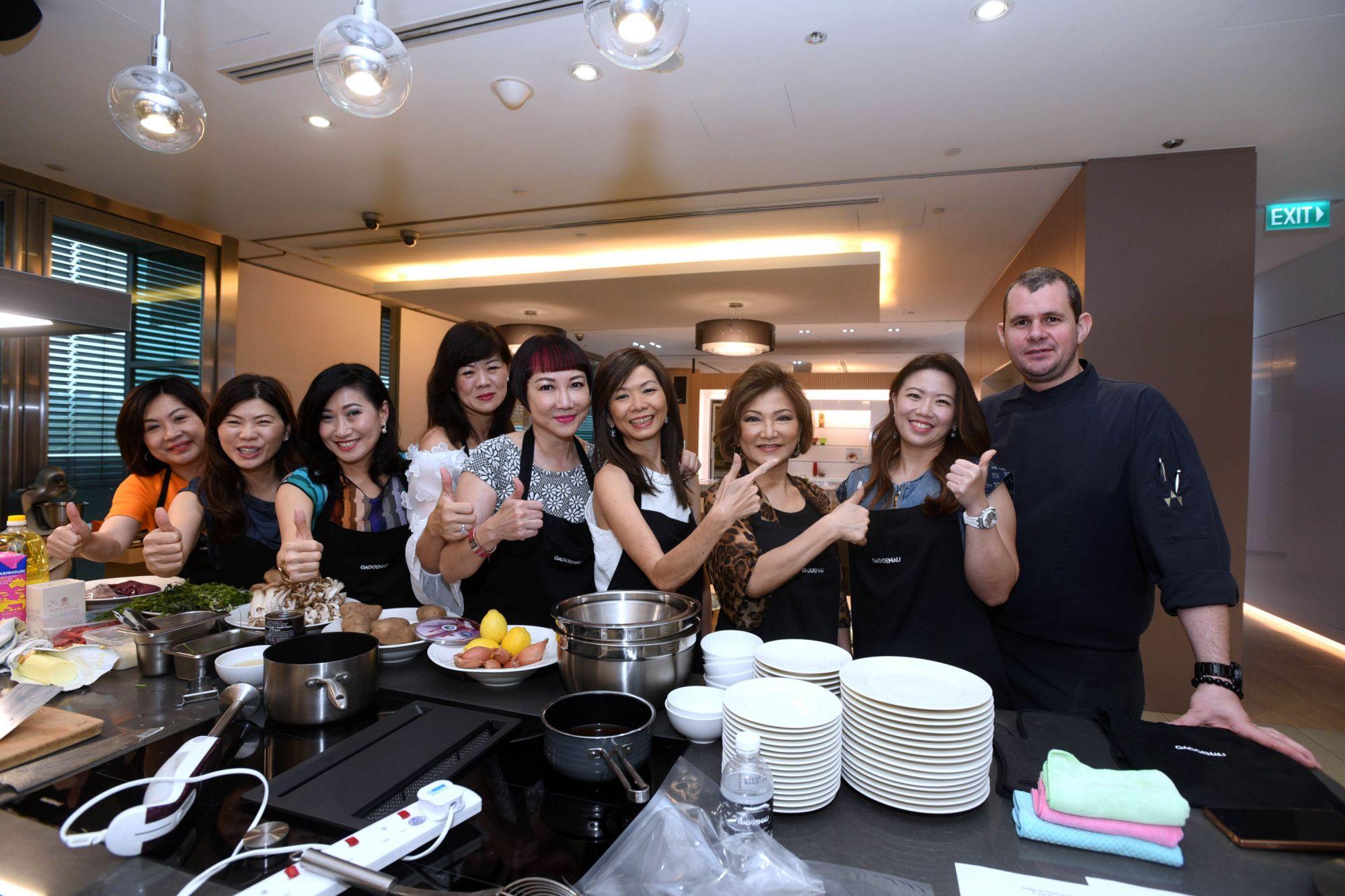 Lilian Low, Caroline Quach, Tan Khar Nai, Yvonne Zee, Frances Low, Dolly Cheong, Audrey Mico, Siow Yin Yin, Stephan Zoisl