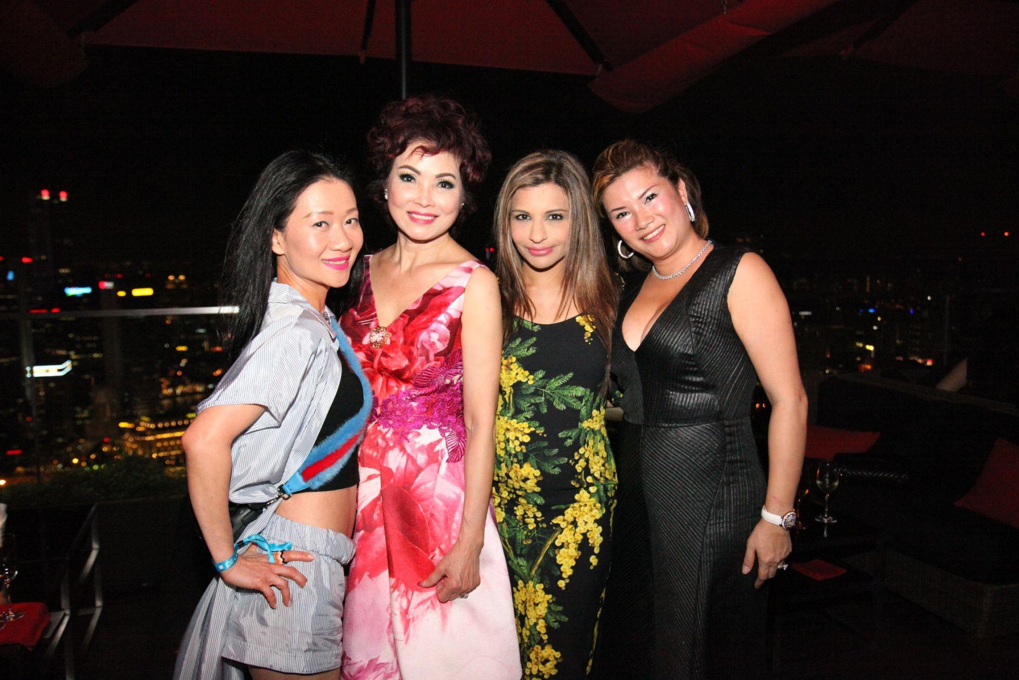 Dana Cheong, Linda Soo-Tan, Rasina Rubin, Nicole Moss