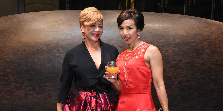 Angel Carew-Jones and Yvette Tee