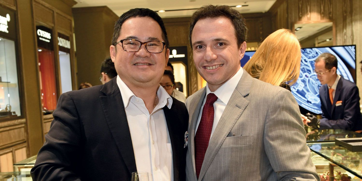 Ong Ban and Fabien Levrion
