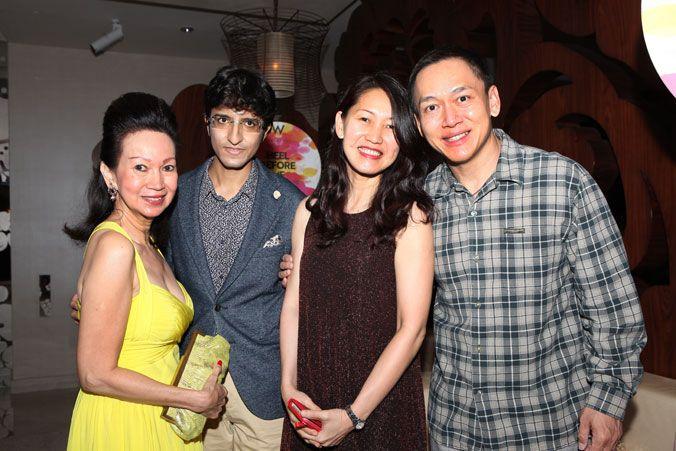 Celeste Basapa, Karan Tilani, Lynn & Leon Liu