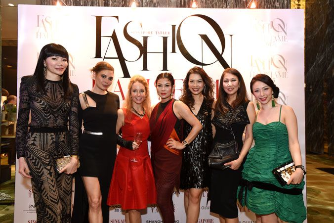 Georgia Lee, Marisa Wee, Paige Parker, Susanna Kang, Ho Ching Lin, June Rin and Loh May Han