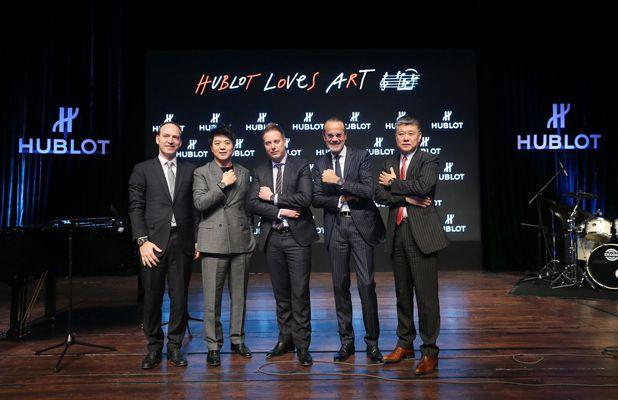 Mr Philippe Tardivel, Lang Lang, Loic Biver, Benoit Toulin, Li Fei