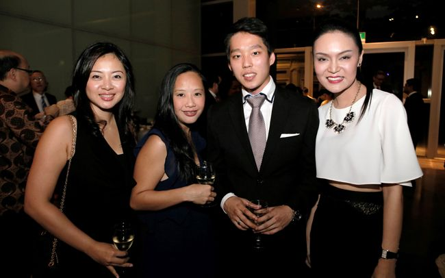Cheryl Ong, Jasmine Hall, Ivan Lin, Celine Goh