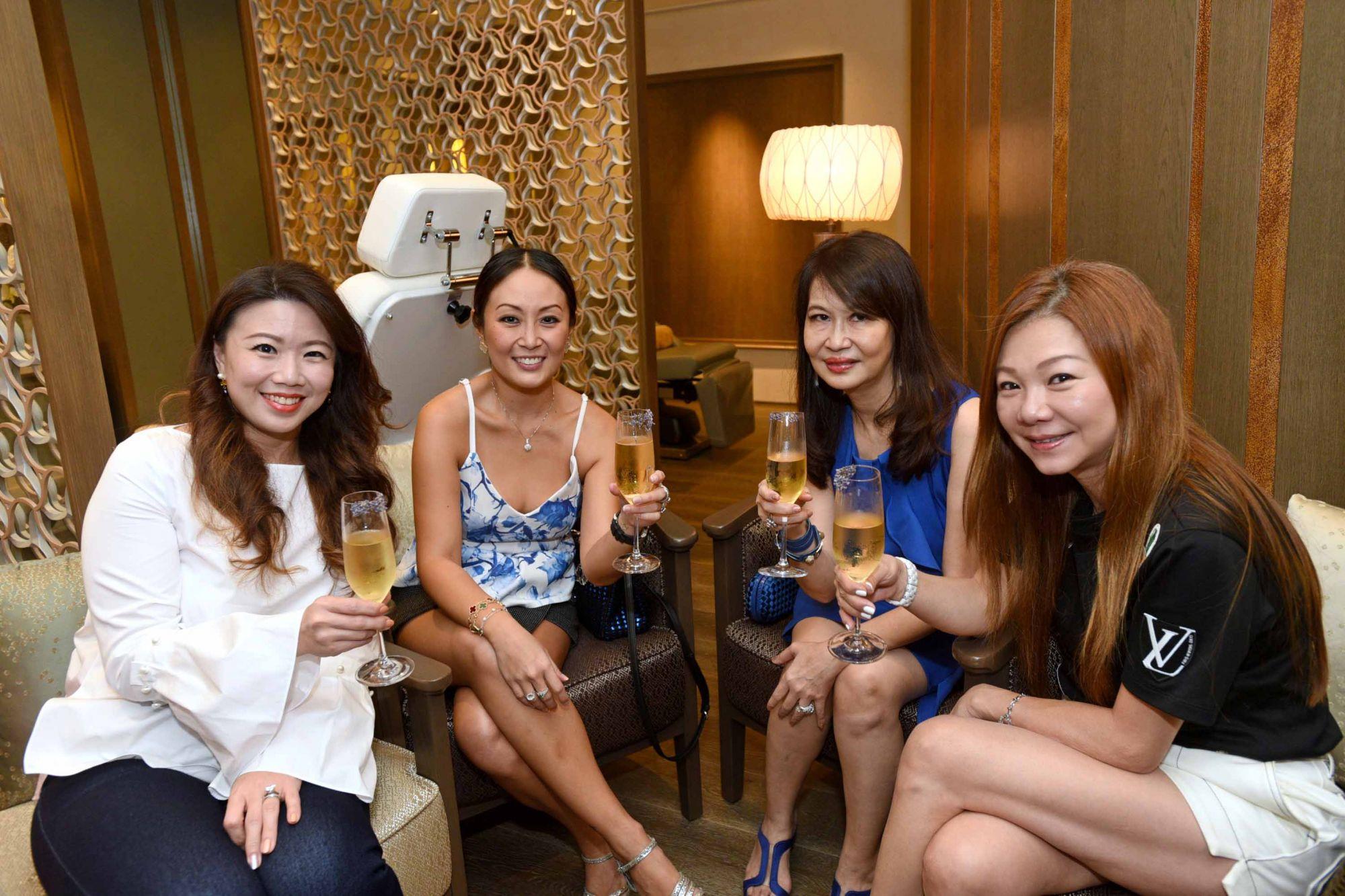 Siow Yin Yin, Serene Chua, Evelyn Sam, Angela Ng