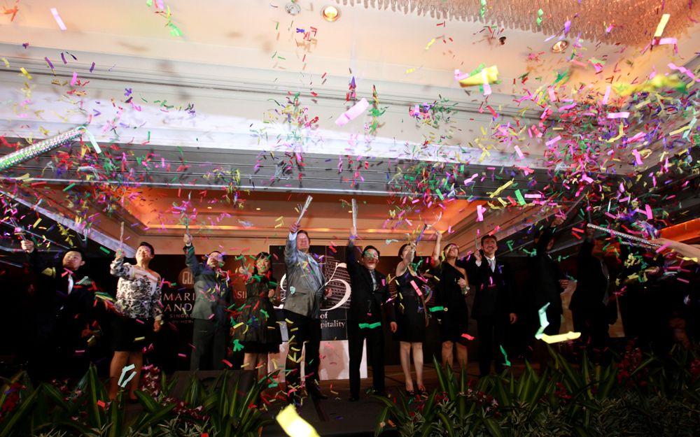 Marina Mandarin Singapore's 25th Anniversary Gala Dinner
