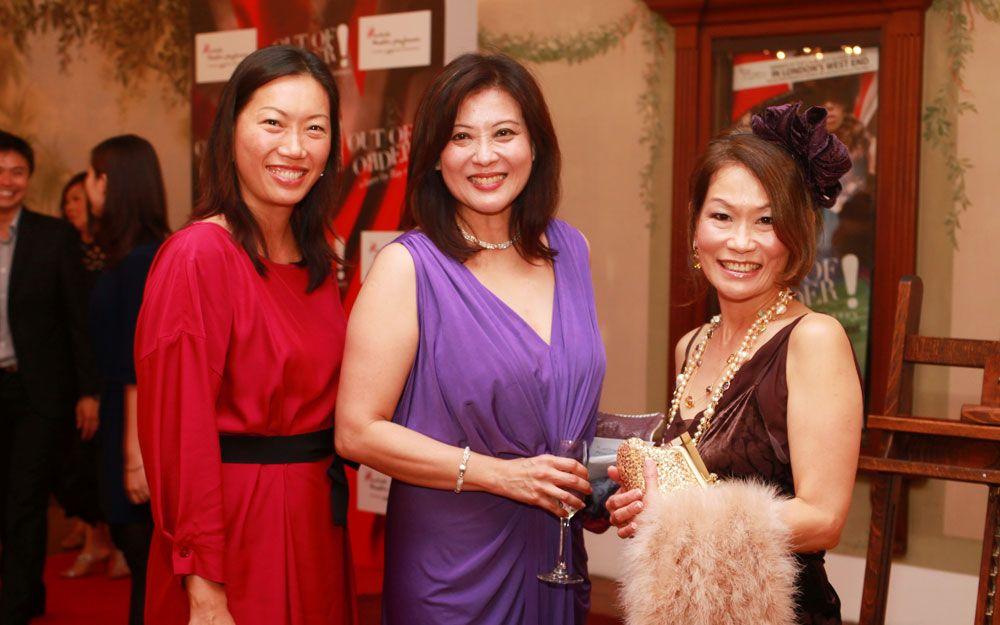 Alison Lee, Christine Graf and Lani Chan
