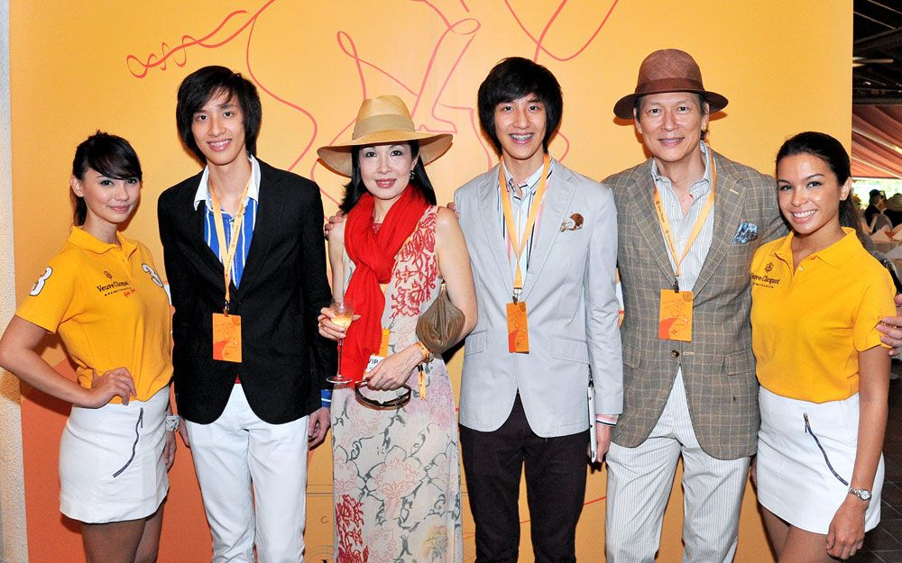 Julien Leo, Tina Tan-Leo, Brandon Leo and Lionel Leo
