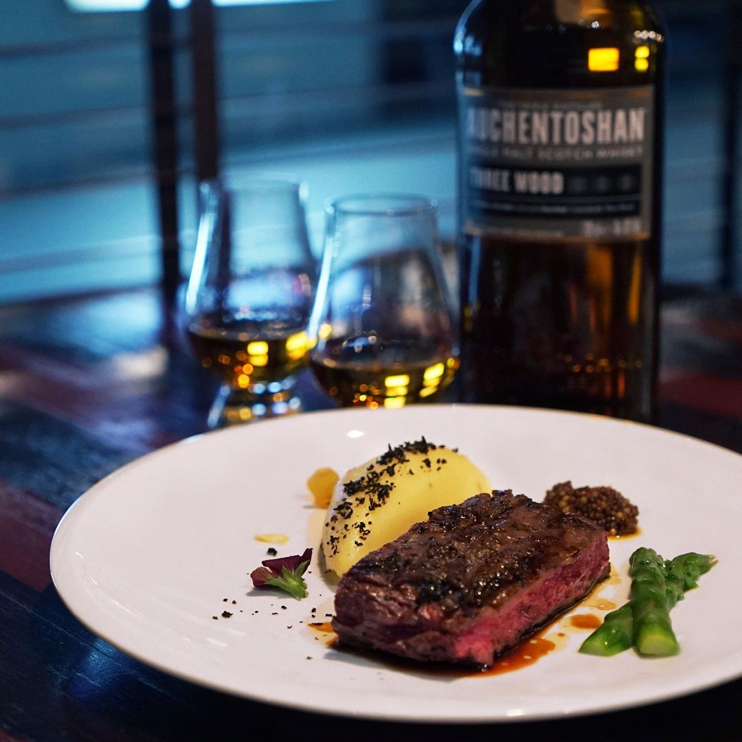 Perfect Match: Whisky And Steak At Bedrock Bar & Grill