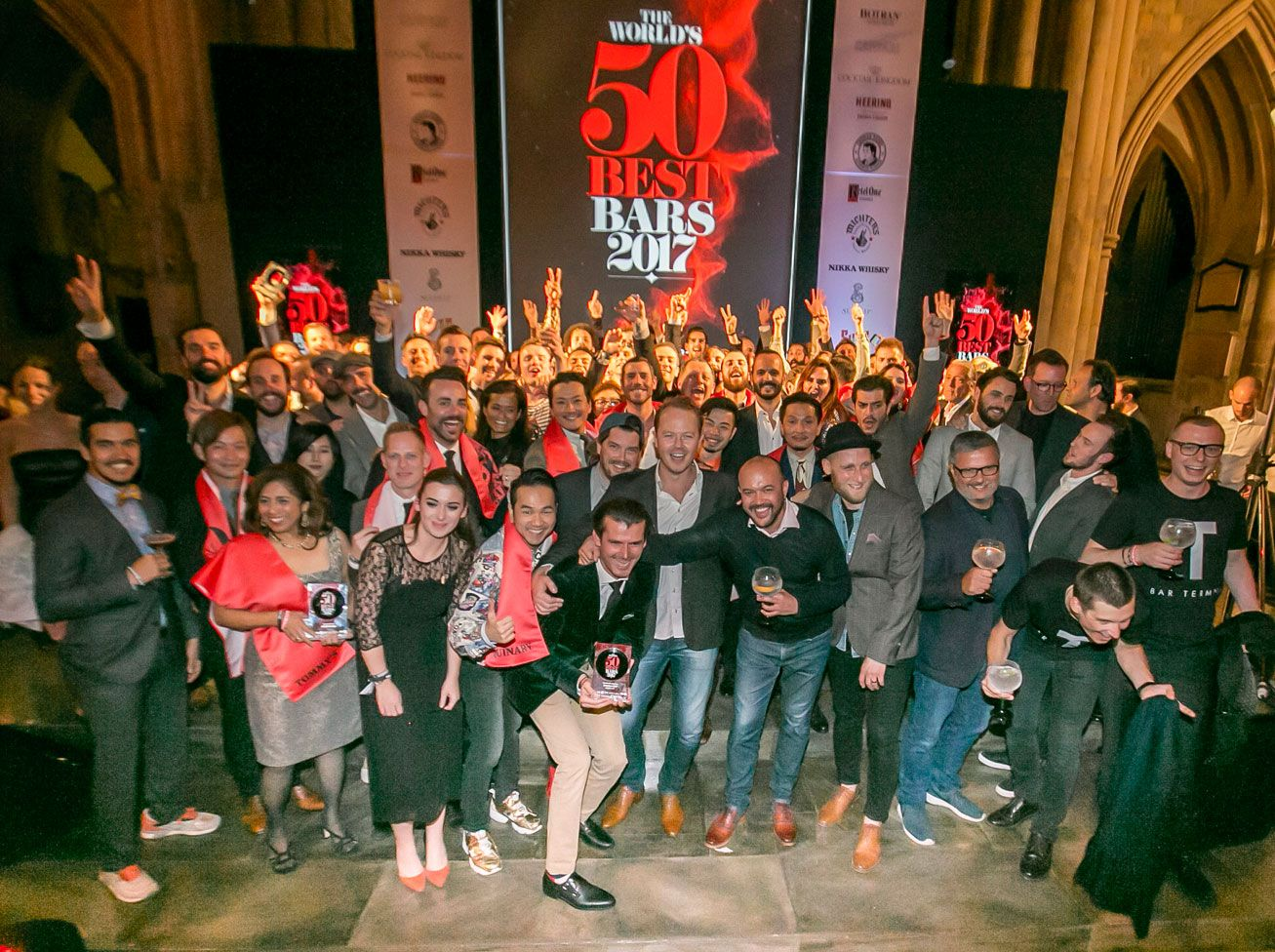 6 Bars In Singapore Make This Year's World's 50 Best Bars List