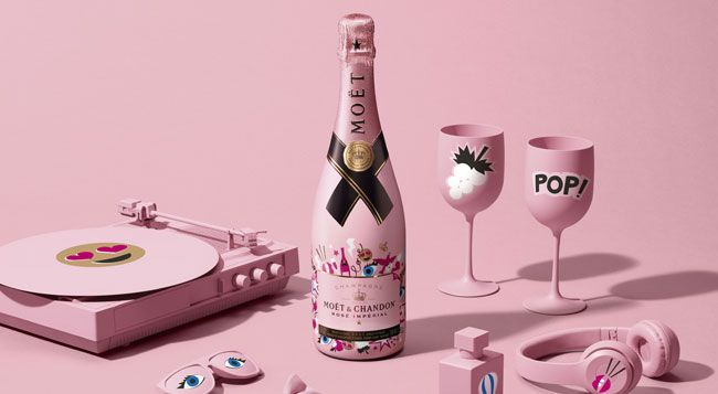 Express Your Love With The Moët & Chandon Rosé Impérial Emoëticons Limited Edition