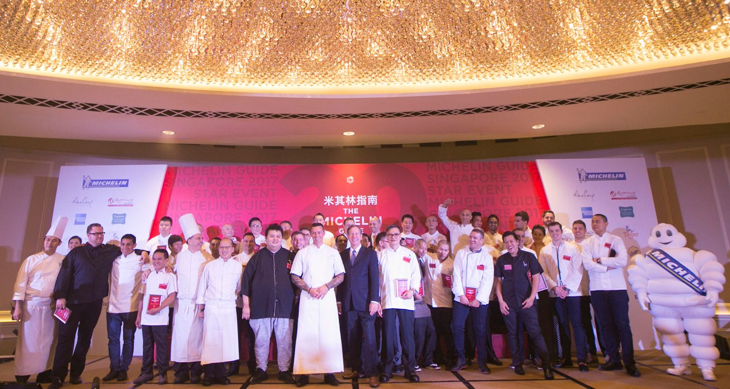 2017 Michelin Guide Singapore: The Entire List Revealed
