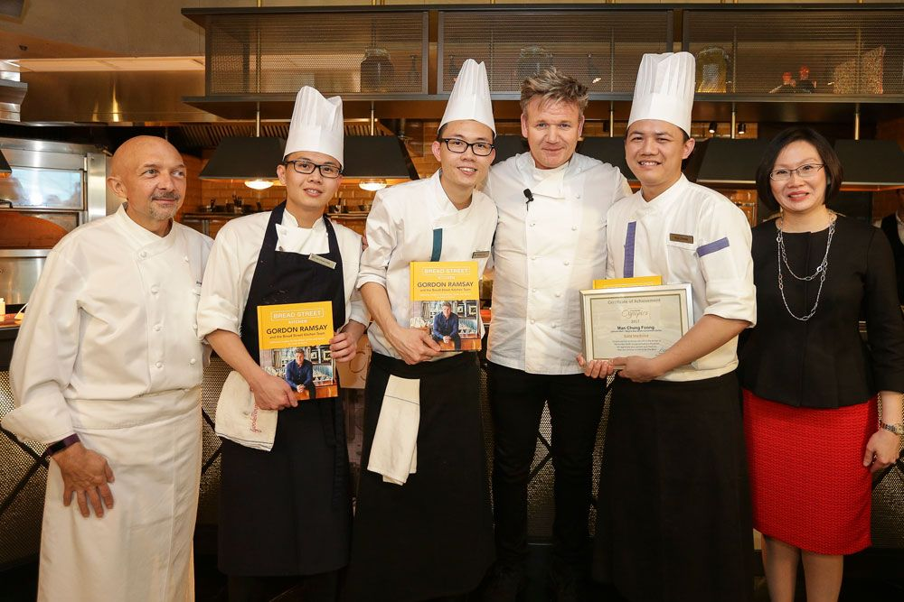 Gordon Ramsay's Honest Advice For Budding Chefs