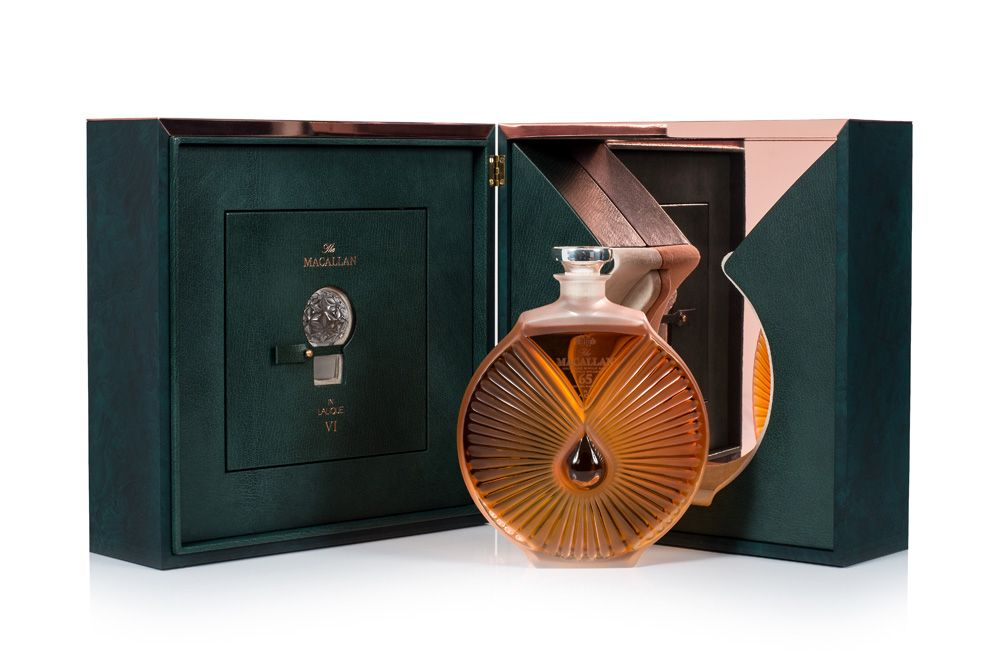 The Macallan Completes Its Lalique Six Pillars Collection with the Rare 65-Year-Old Whisky