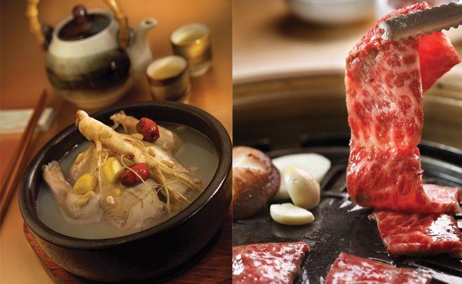 Crystal Jade Korean Ginseng Chicken and BBQ
