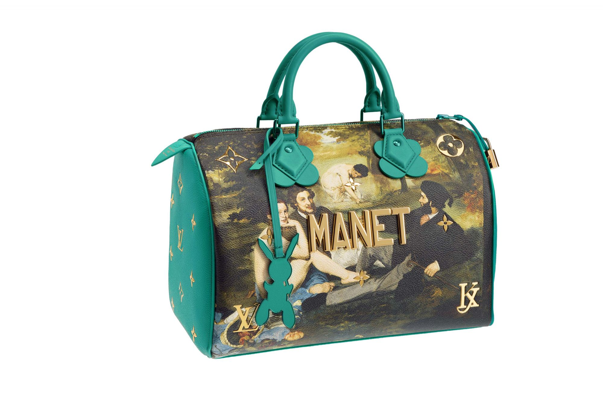 These Louis Vuitton x Jeff Koons Bags Are Literal Works Of Art