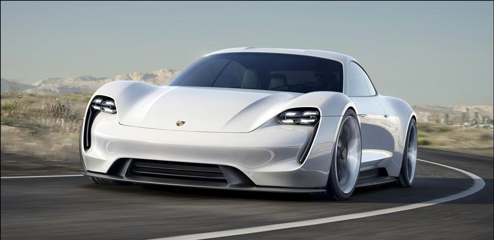 Porsche Launches All-Electric Luxury Model, Mission E